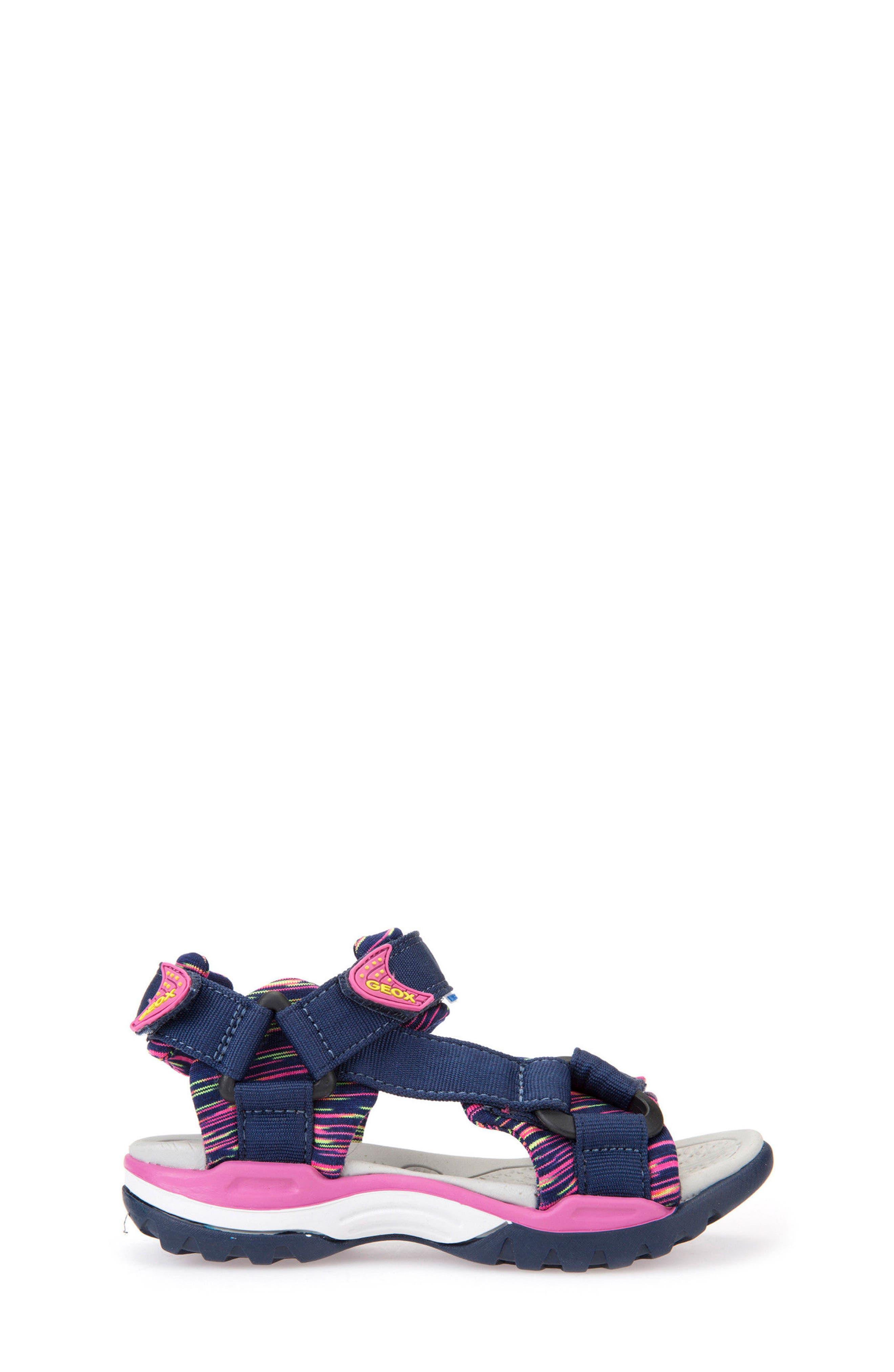 GEOX,                             Borealis Sandal,                             Alternate thumbnail 3, color,                             414