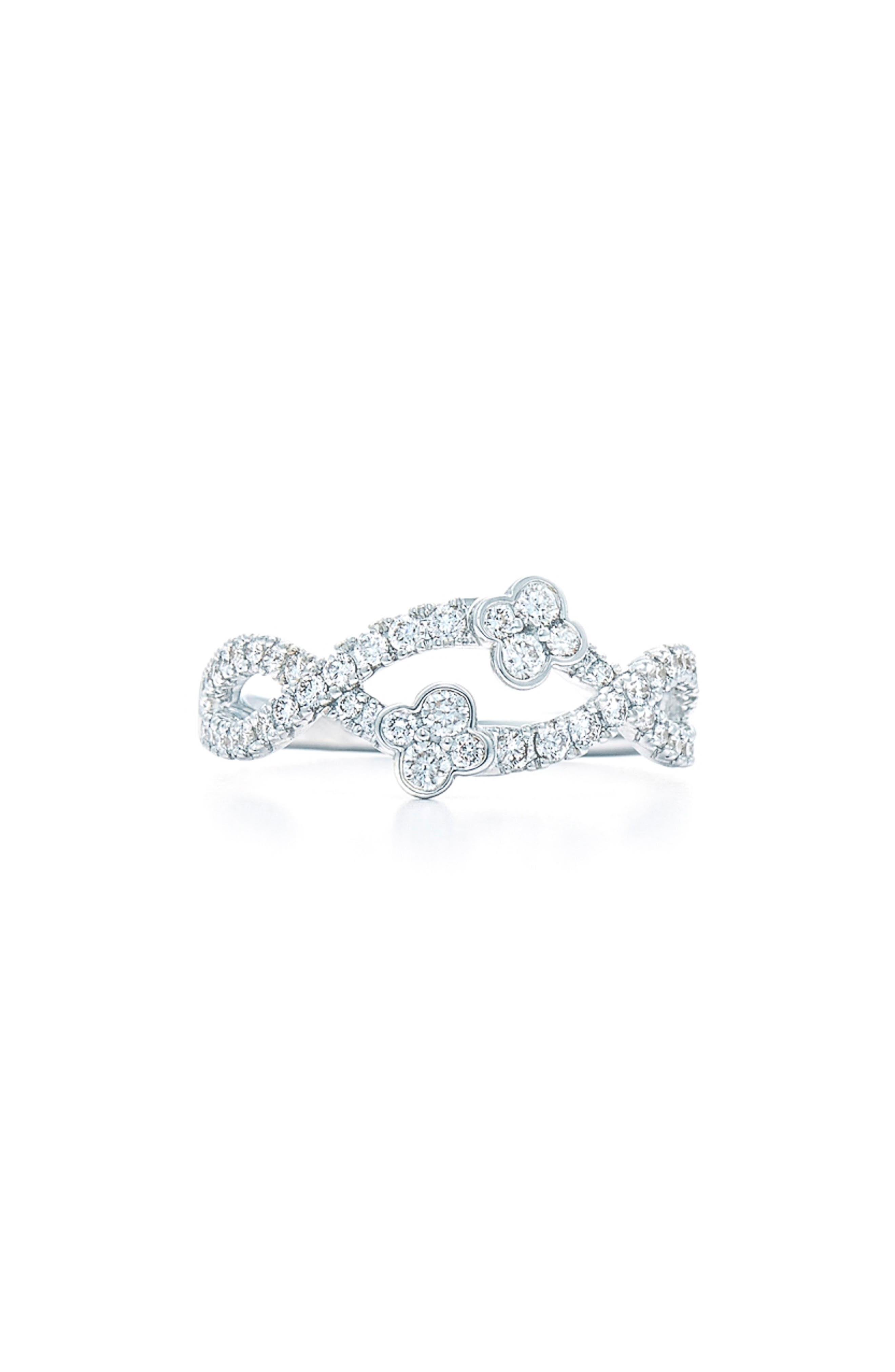 KWIAT Jasmine Diamond Ring in White Gold