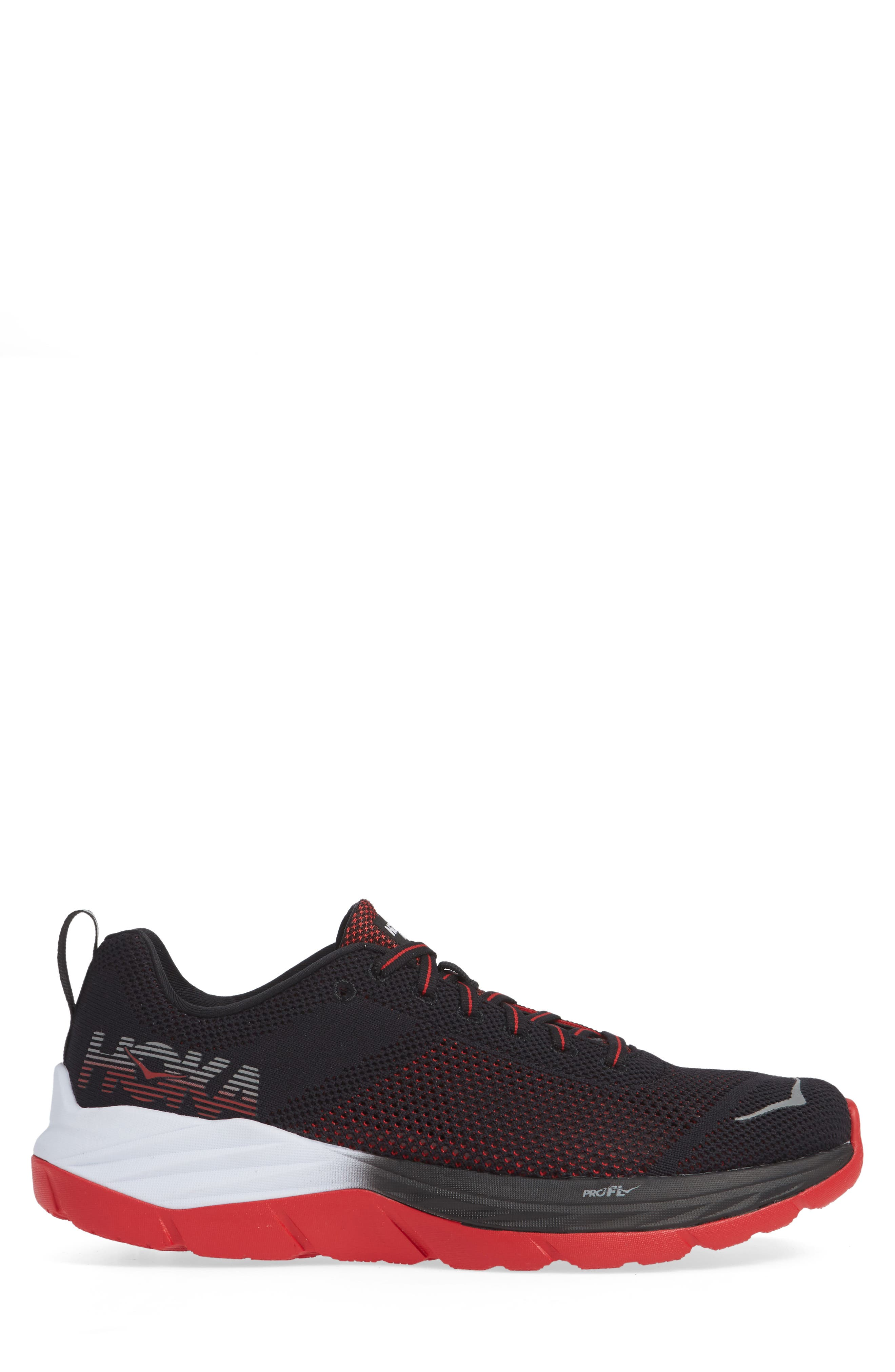 Mach Running Shoe,                             Alternate thumbnail 3, color,                             BLACK/ WHITE