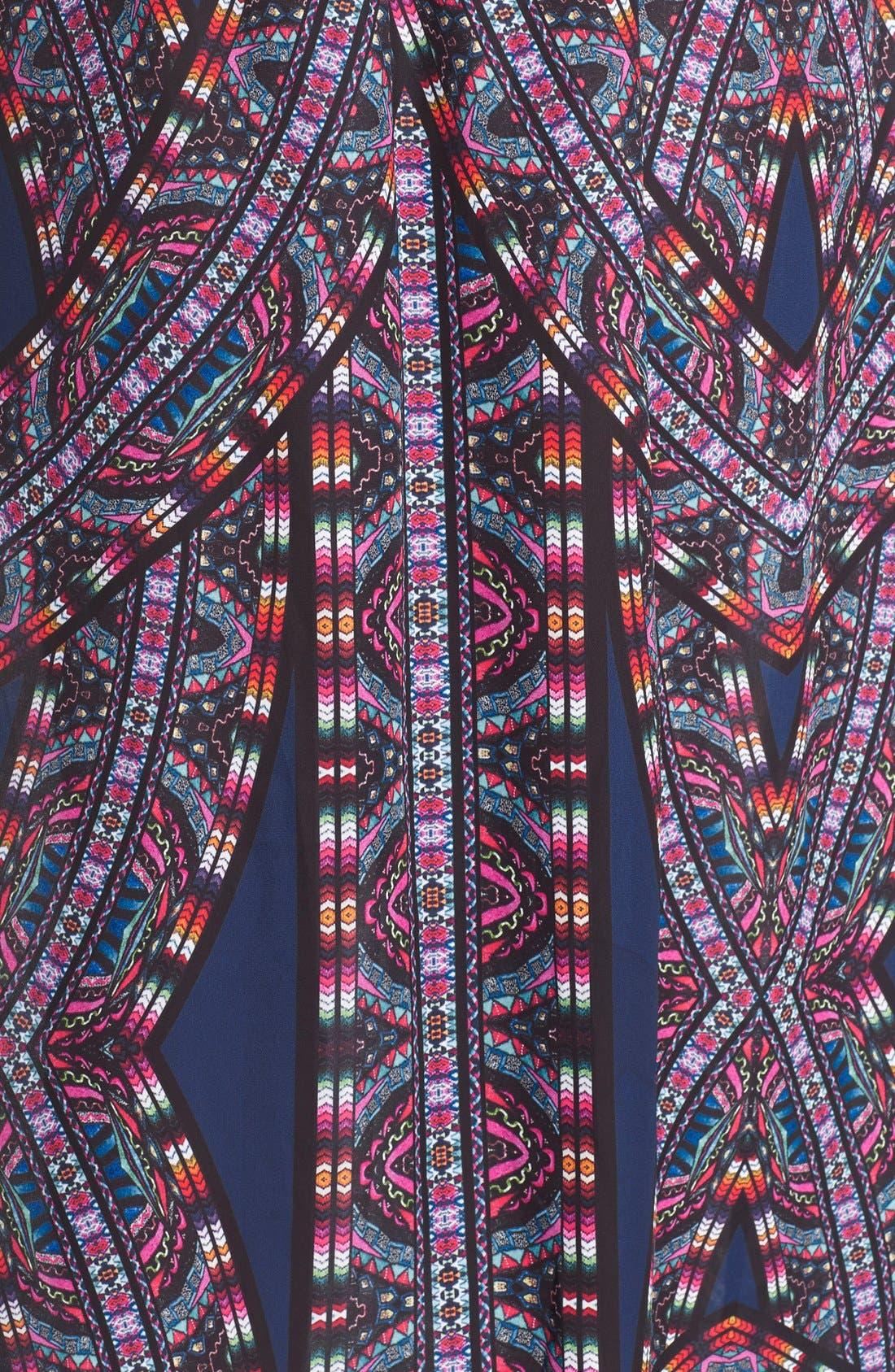 'Biba' Drawstring Maxi Dress,                             Alternate thumbnail 5, color,