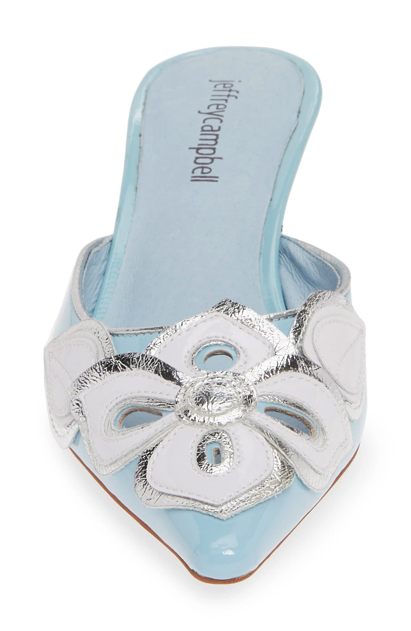 JEFFREY CAMPBELL Limon Mule, Alternate, color, BABY BLUE PATENT LEATHER