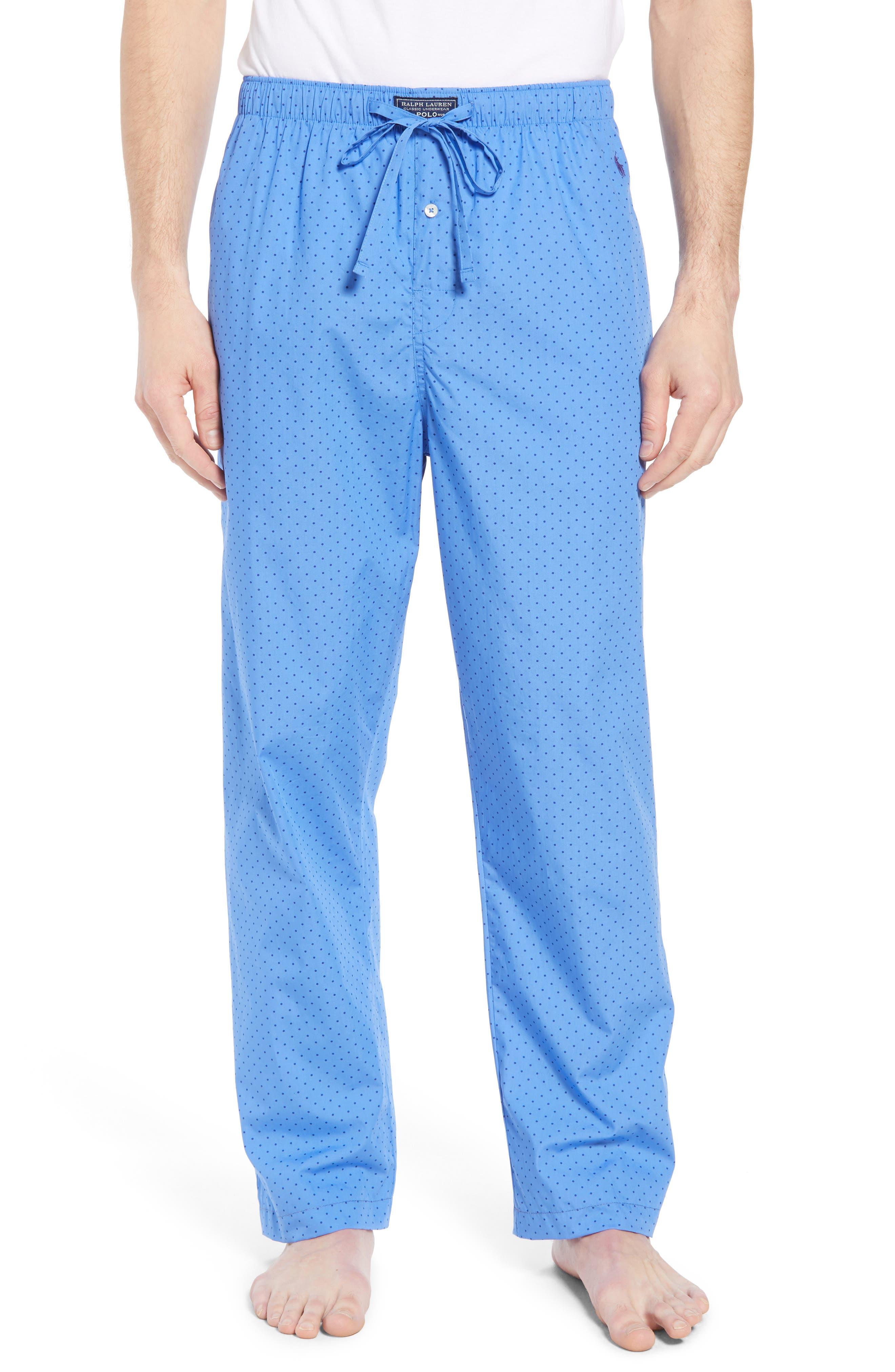 Dot Cotton Pajama Pants,                         Main,                         color, 451