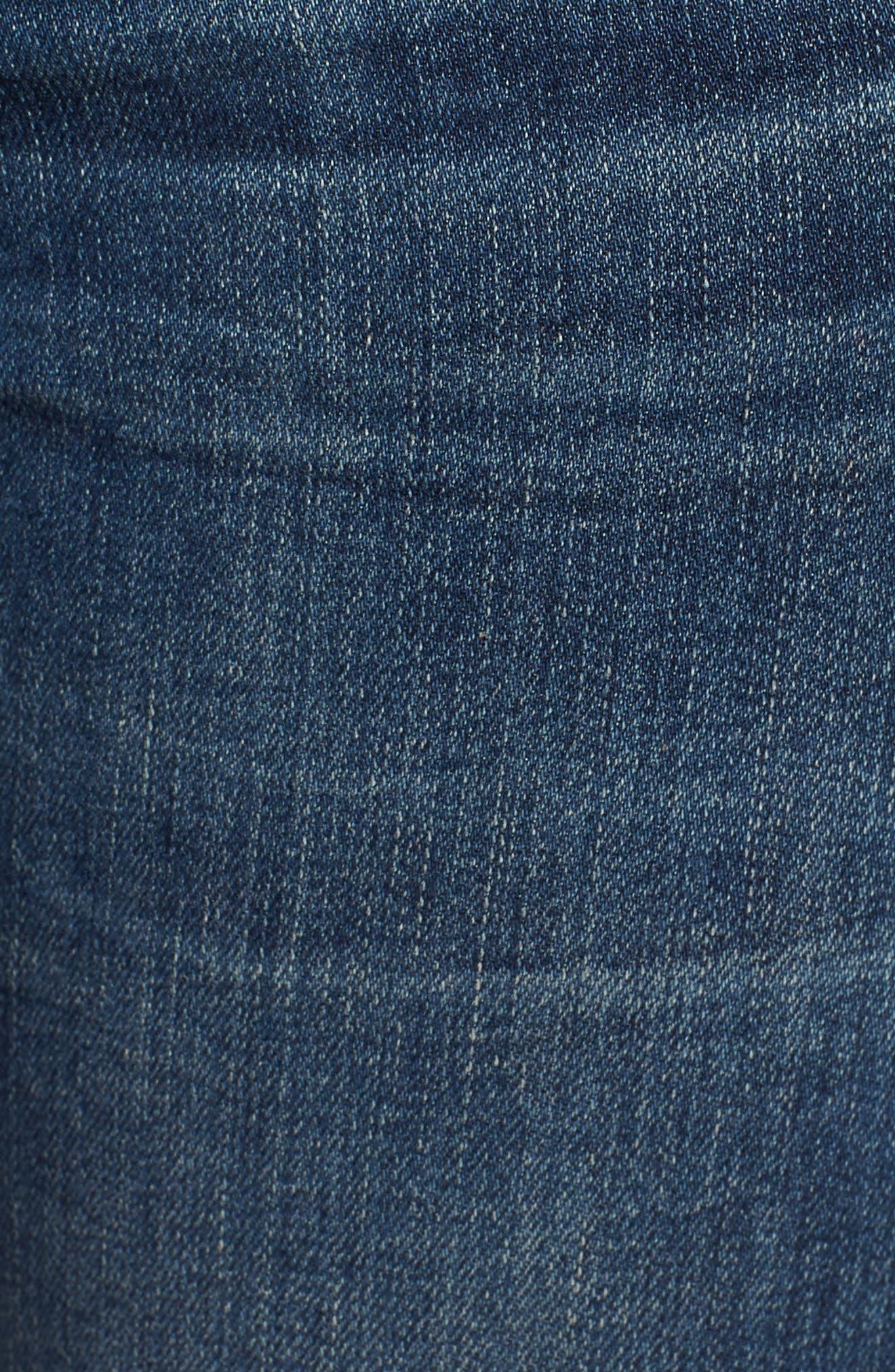 Ankle Skinny Jeans,                             Alternate thumbnail 6, color,                             MODERN LOVE