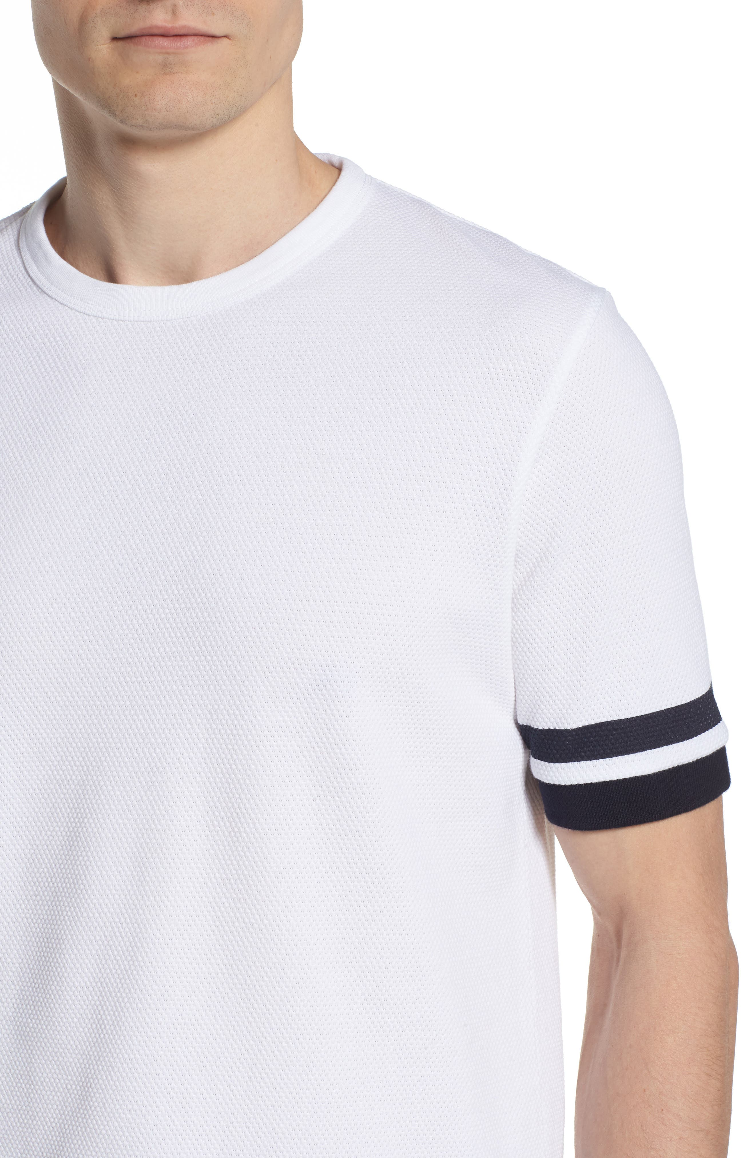 Ampthill Crewneck T-Shirt,                             Alternate thumbnail 4, color,                             100