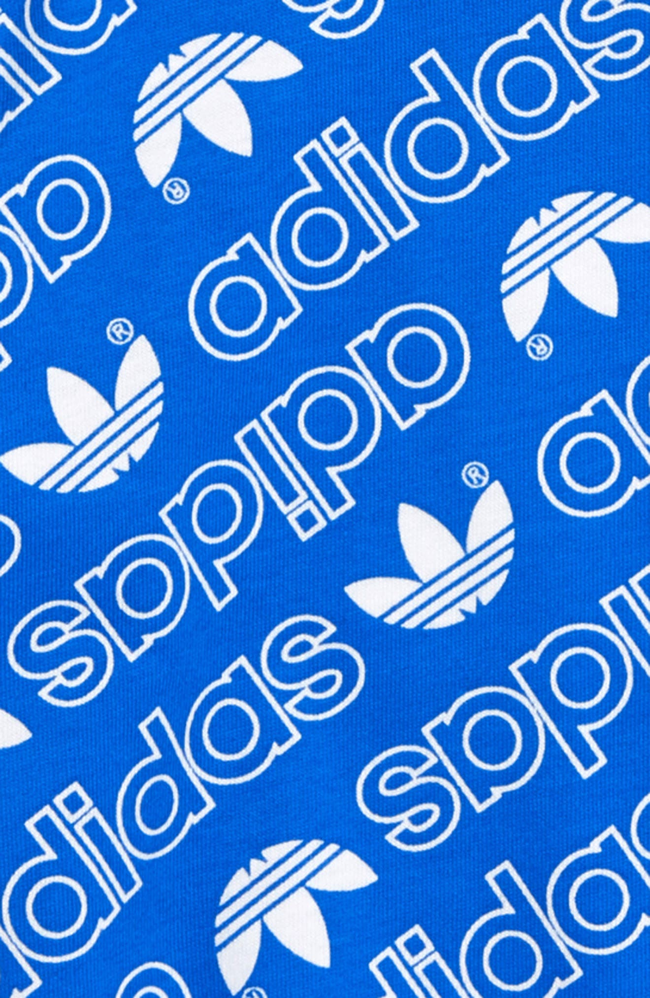 ADIDAS ORIGINALS,                             Trefoil Logo T-Shirt,                             Alternate thumbnail 2, color,                             430