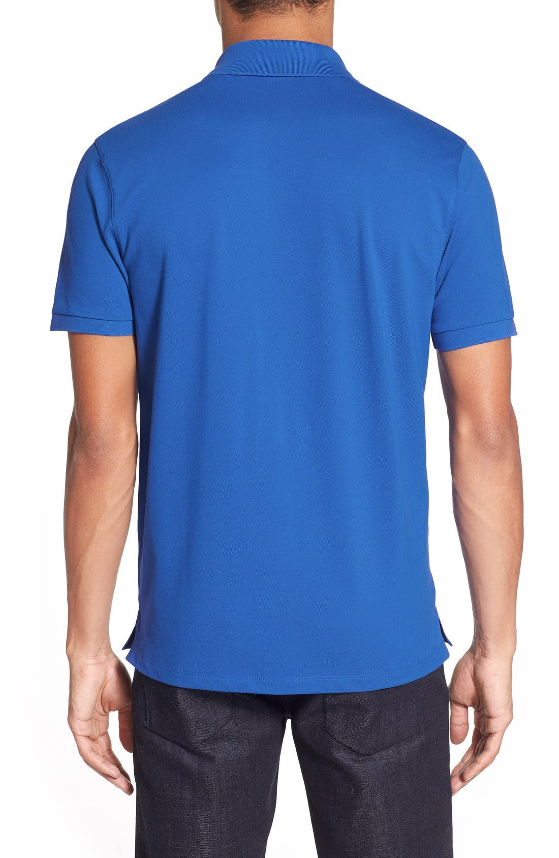 'Pallas' Regular Fit Logo Embroidered Polo Shirt,                             Alternate thumbnail 61, color,