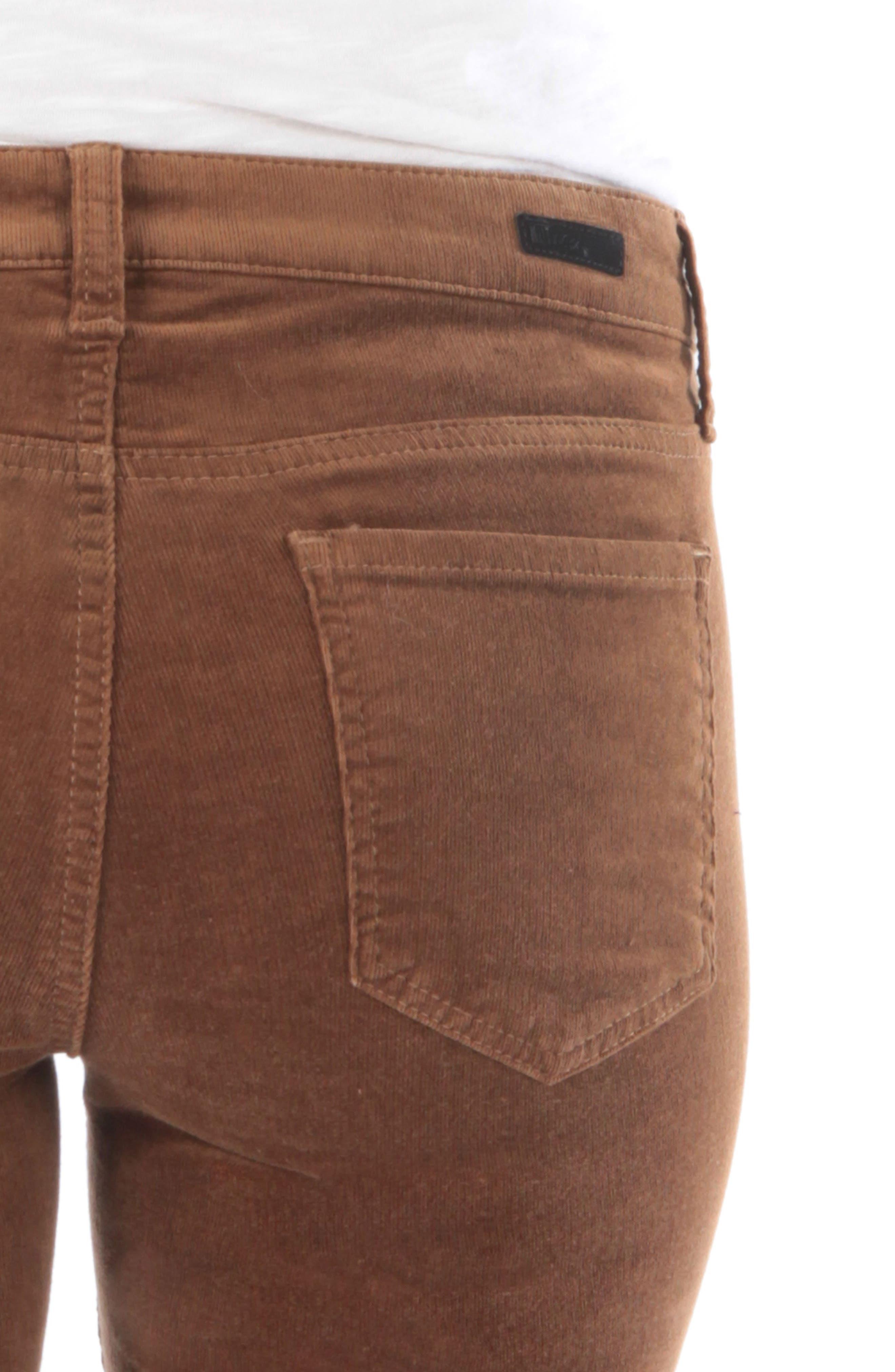 'Diana' Stretch Corduroy Skinny Pants,                             Alternate thumbnail 171, color,