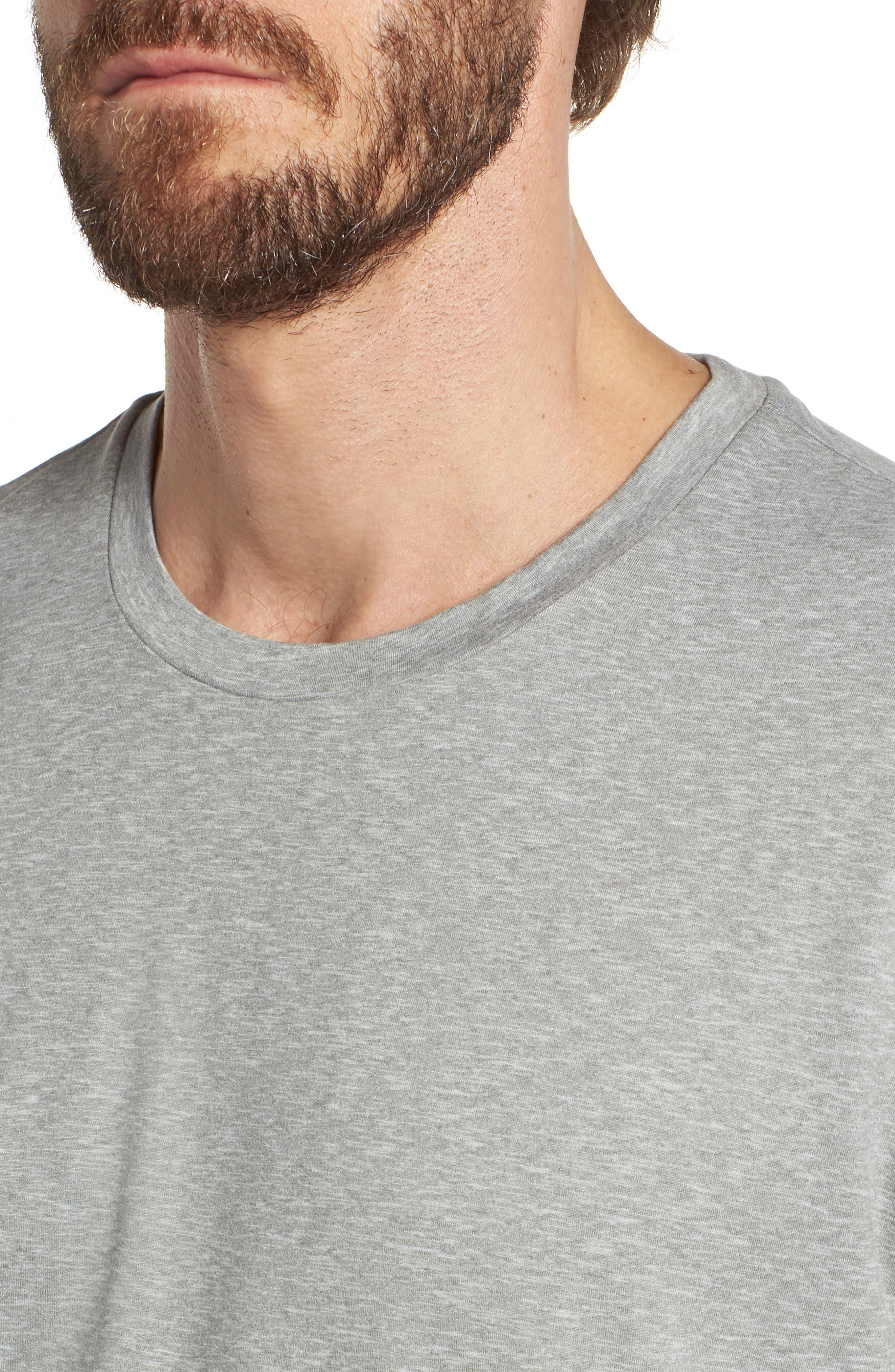 Therma Sleep Crewneck T-Shirt,                             Alternate thumbnail 4, color,                             033