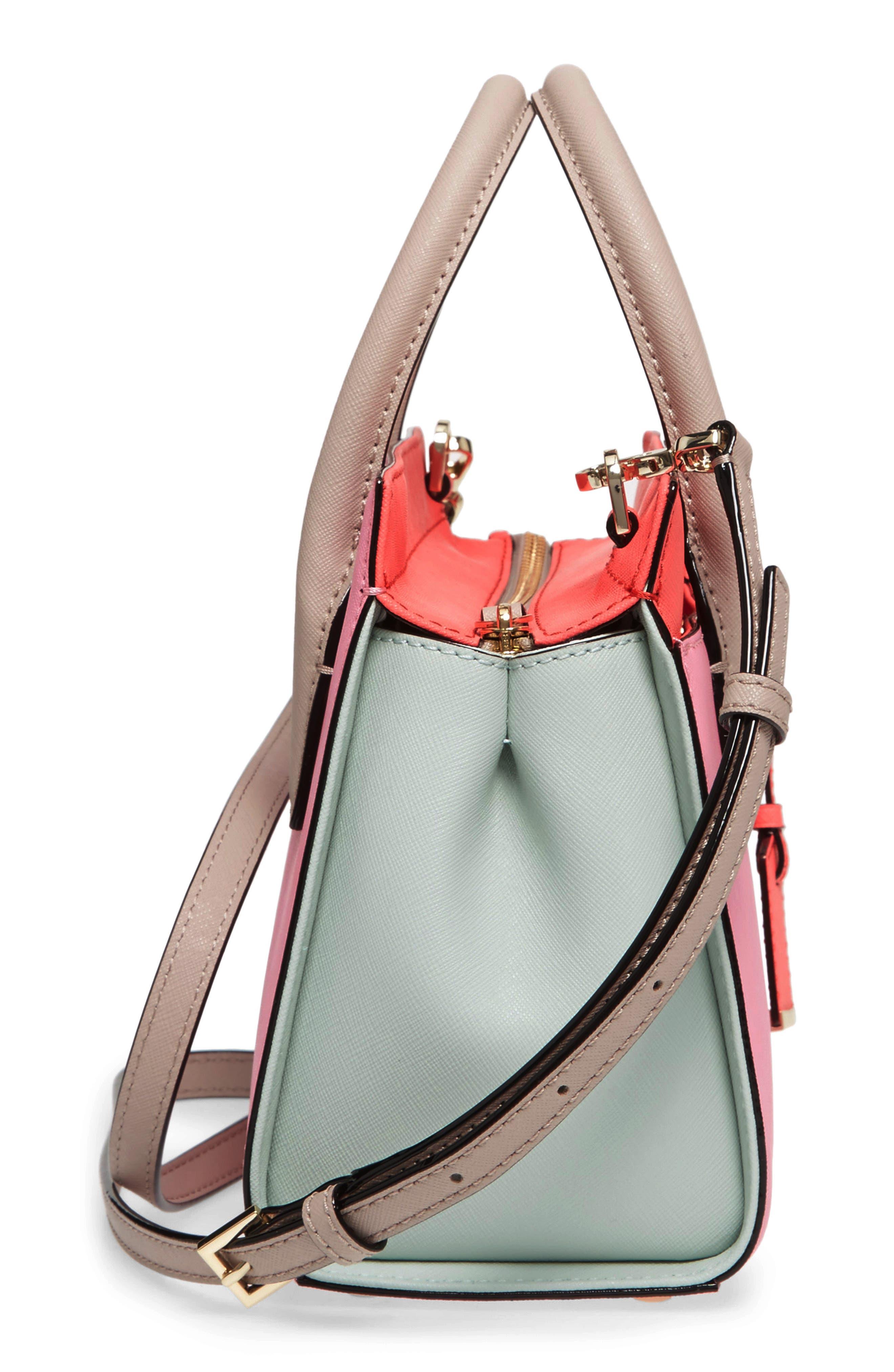 'cameron street - mini candace' leather satchel,                             Alternate thumbnail 5, color,                             690