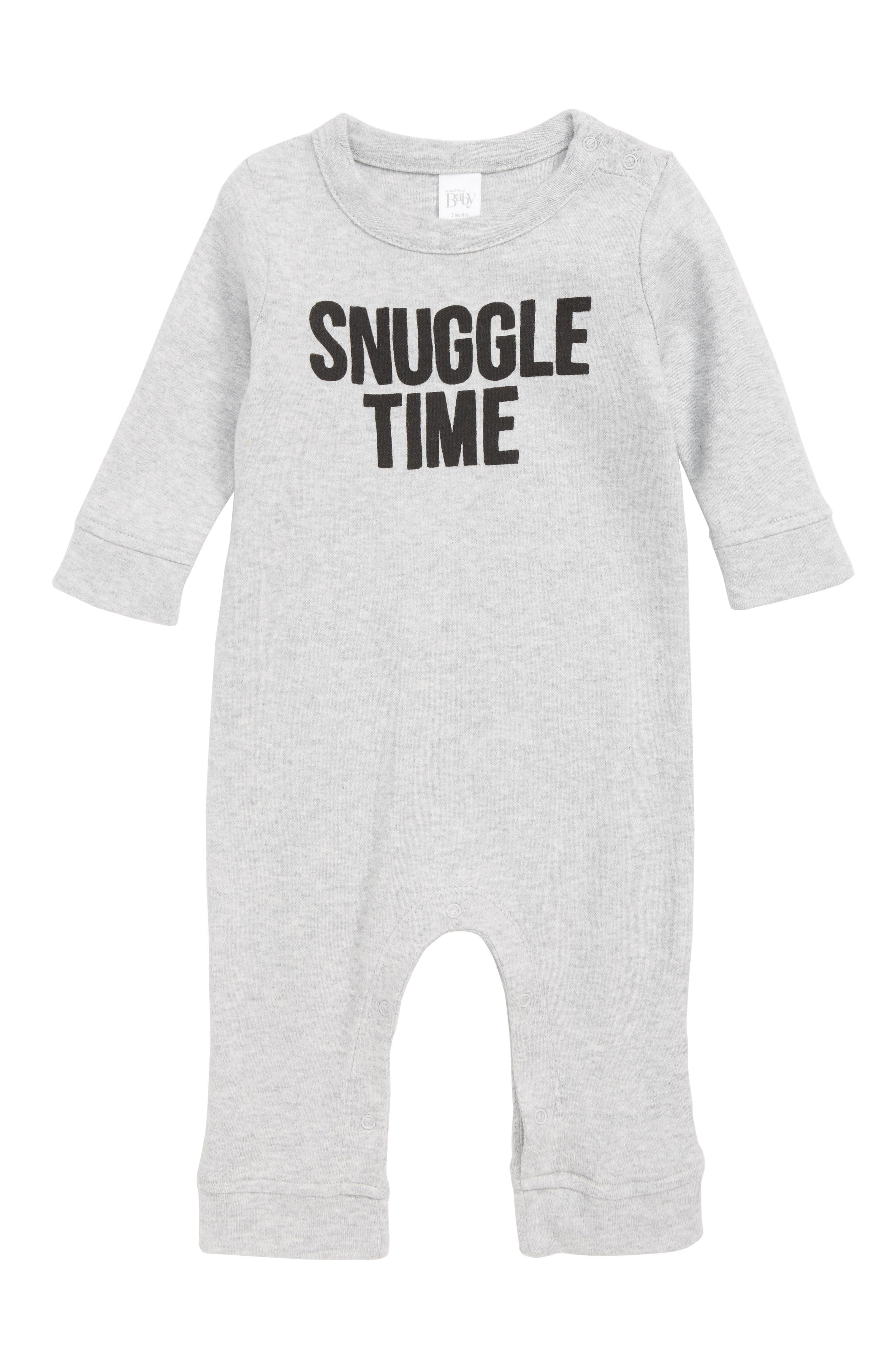 Snuggle Time Romper,                         Main,                         color, 030