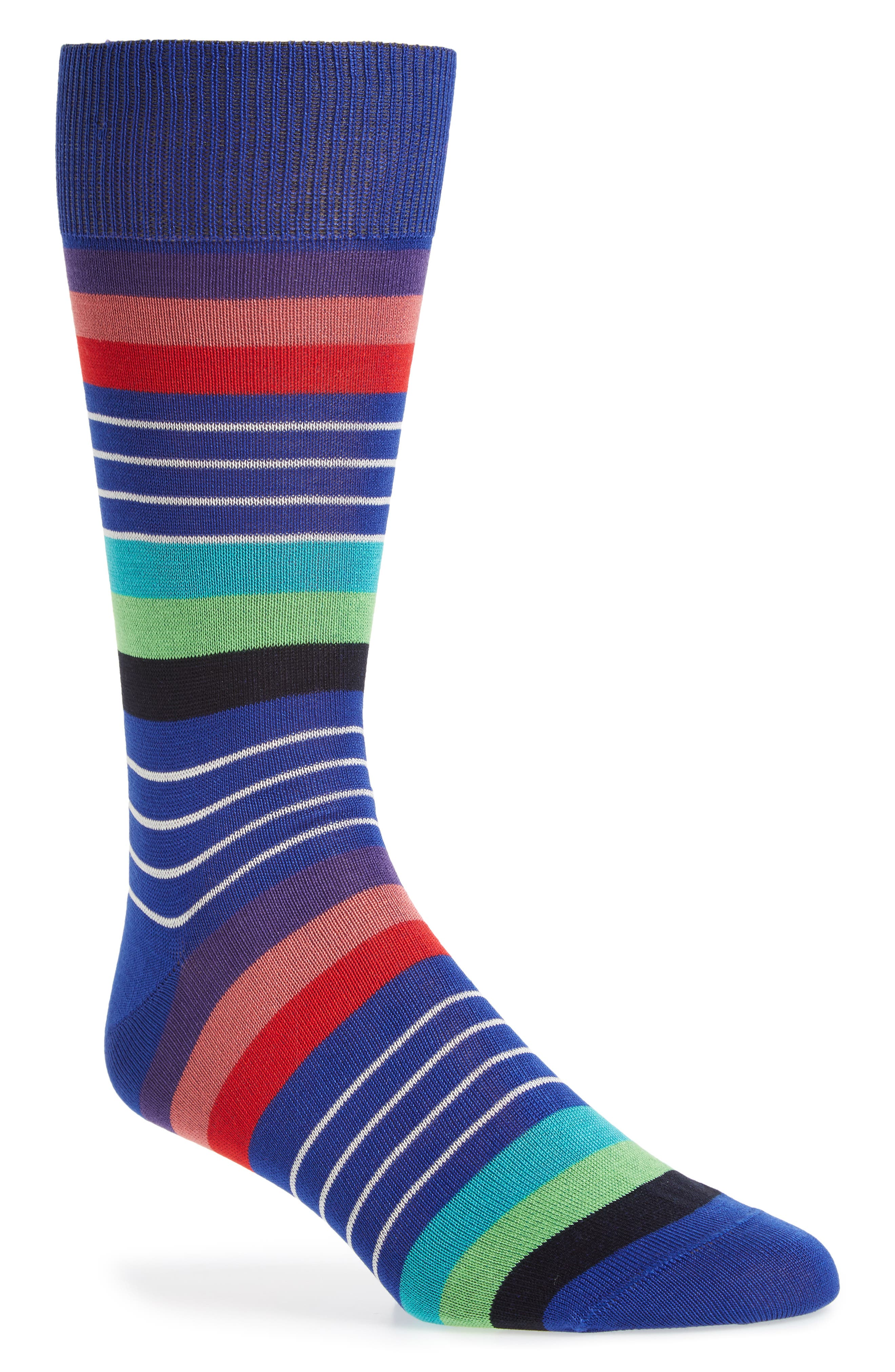 Kel Stripe Crew Socks,                         Main,                         color,