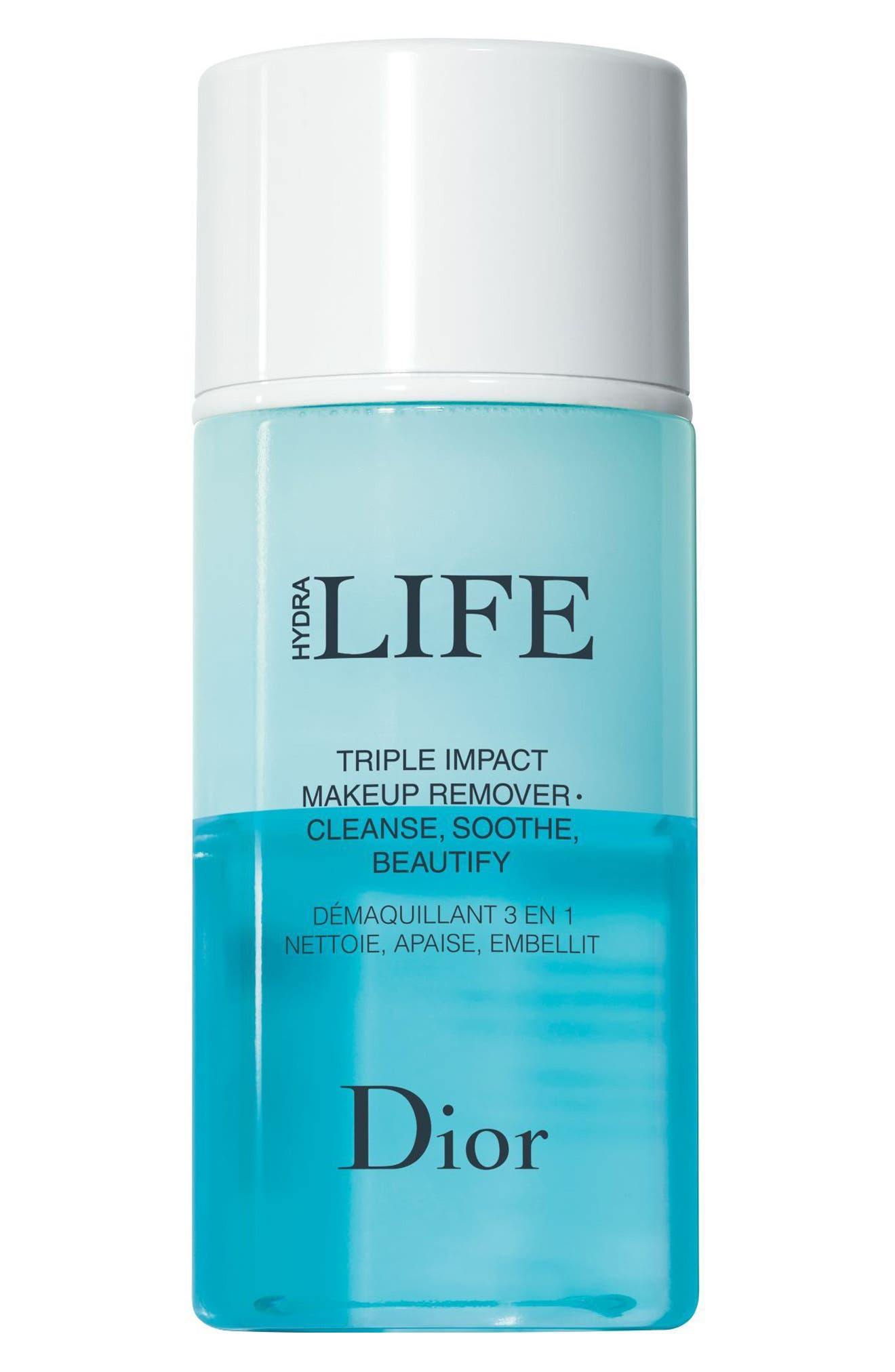 Hydra Life Triple Impact Makeup Remover,                             Main thumbnail 1, color,                             NO COLOR