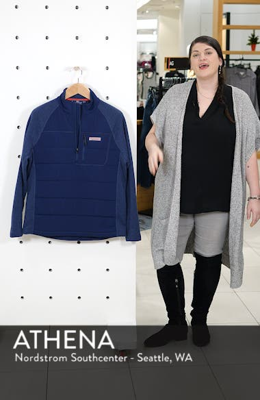 Seaward Fleece Half Zip Pullover, sales video thumbnail