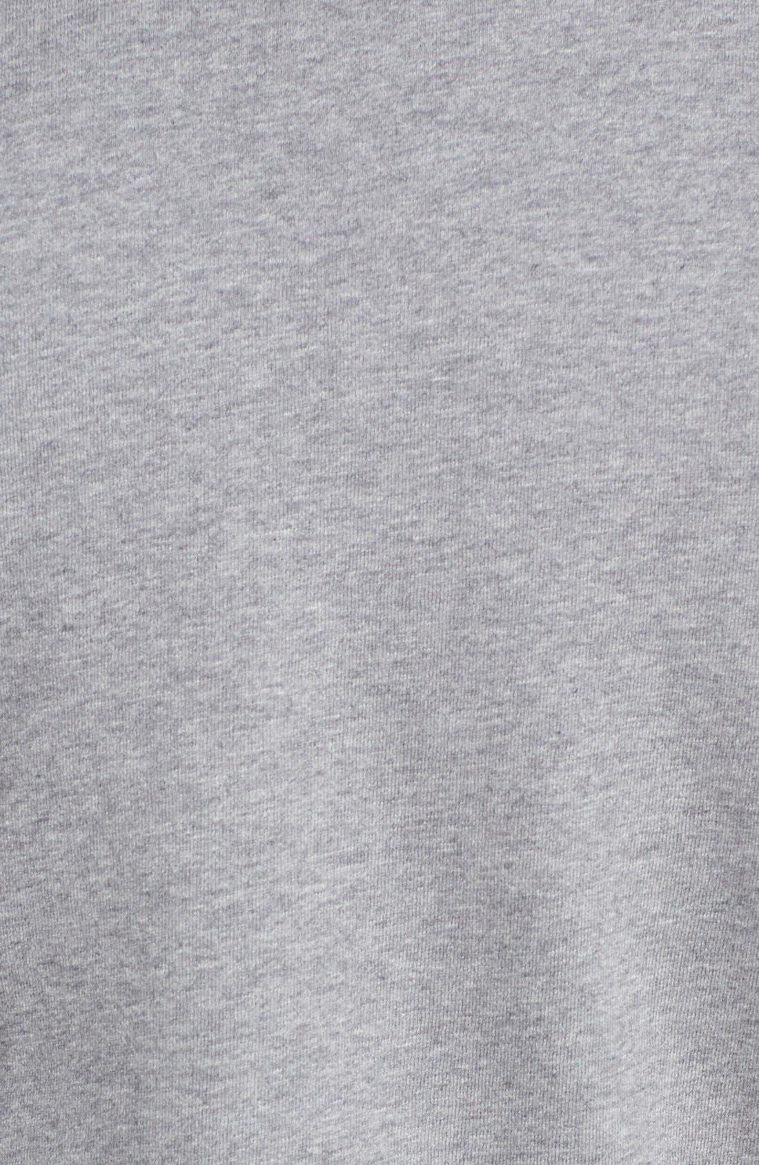 MITCHELL & NESS,                             Mitchell &Ness'Cleveland Browns' Tailored Fleece Crewneck Sweatshirt,                             Alternate thumbnail 4, color,                             061