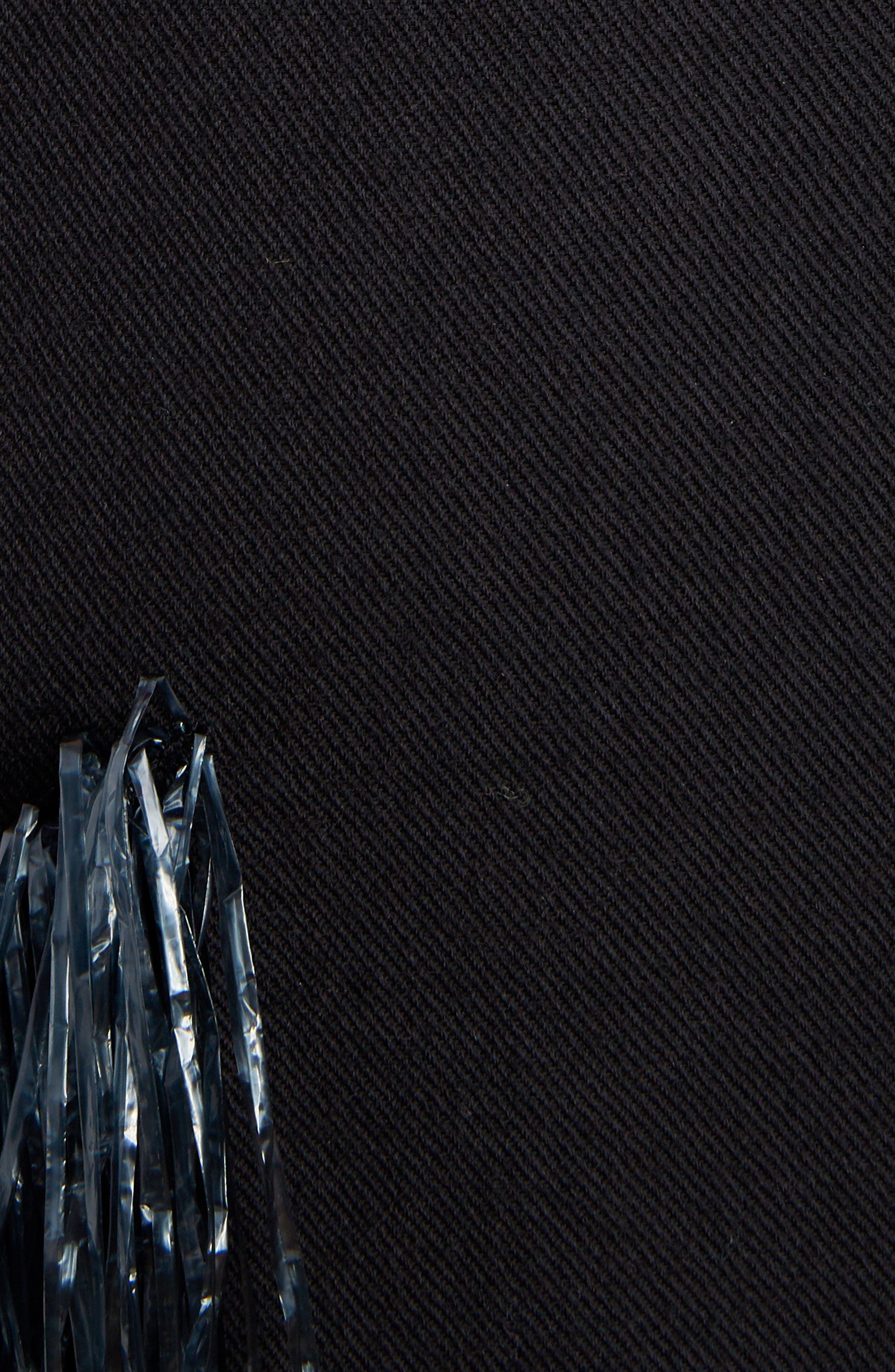 Raffia Fringe Skirt,                             Alternate thumbnail 5, color,                             ANTHRACITE
