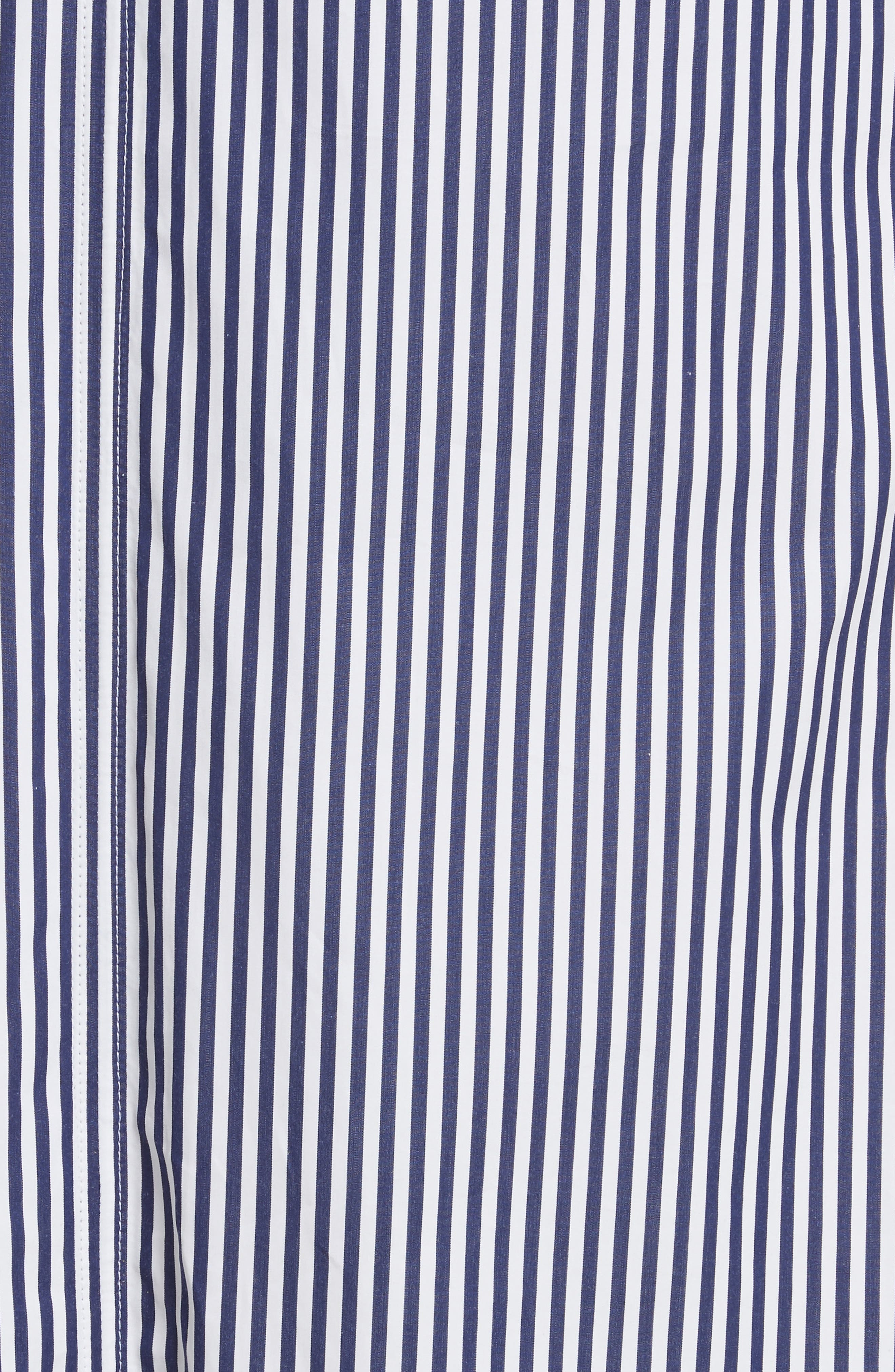 Davey Candy Stripe Shift Dress,                             Alternate thumbnail 5, color,                             456