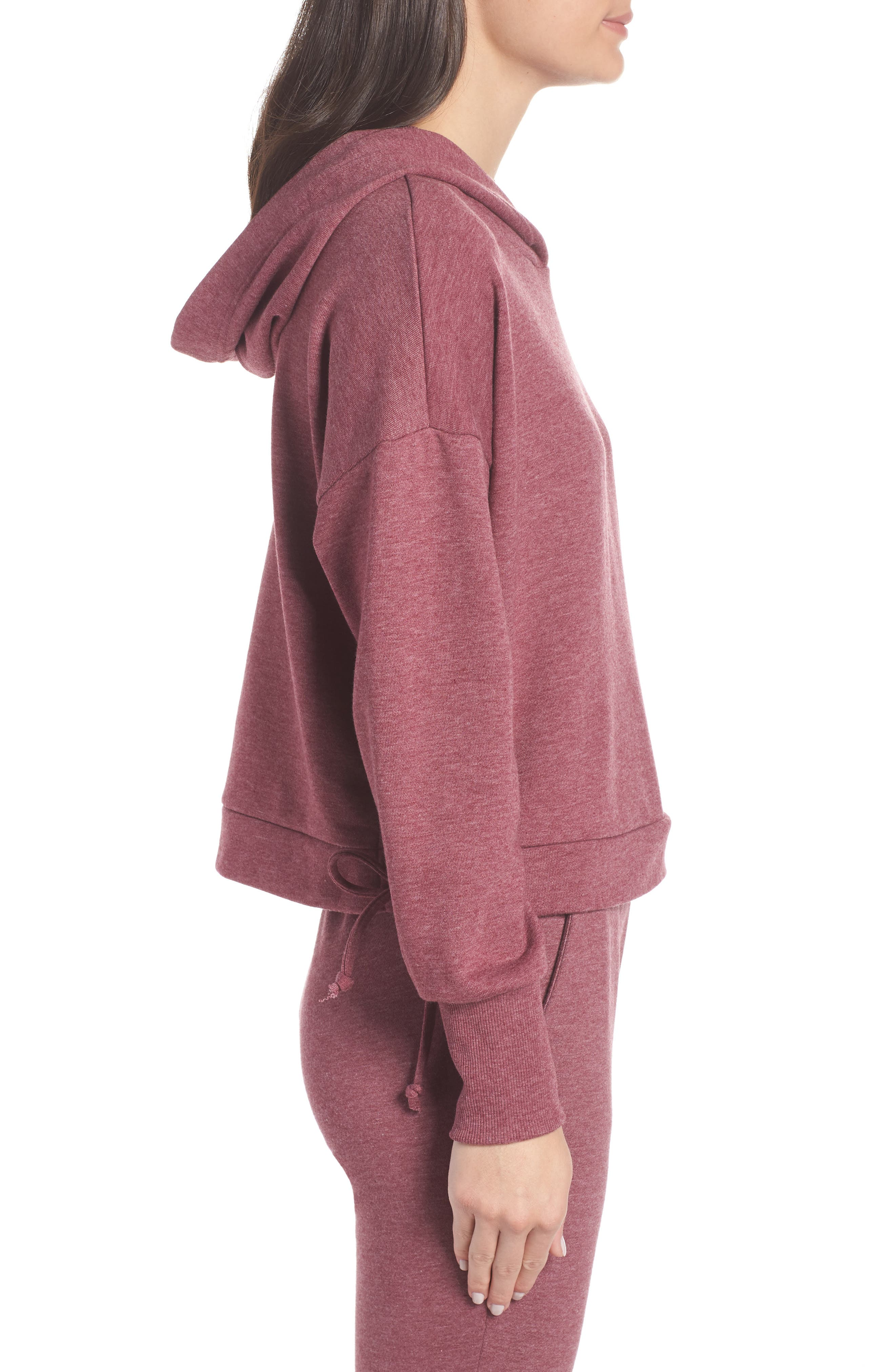 Whip It Hoodie,                             Alternate thumbnail 3, color,                             MULBERRY HEATHER