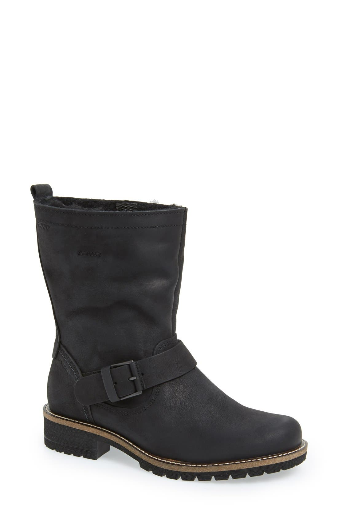 'Elaine' Buckle Boot, Main, color, 001