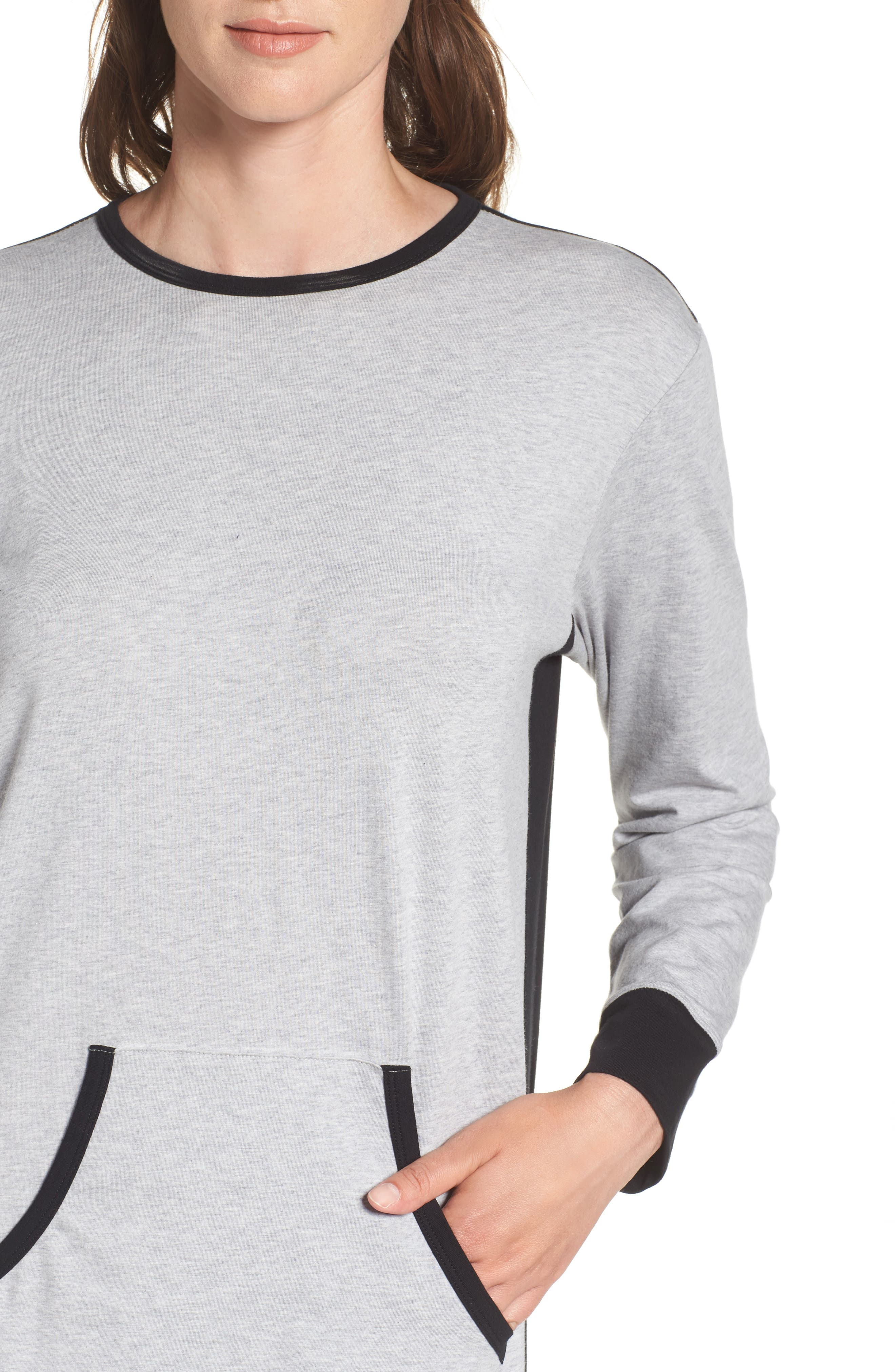 Lounger Sleep Shirt,                             Alternate thumbnail 8, color,