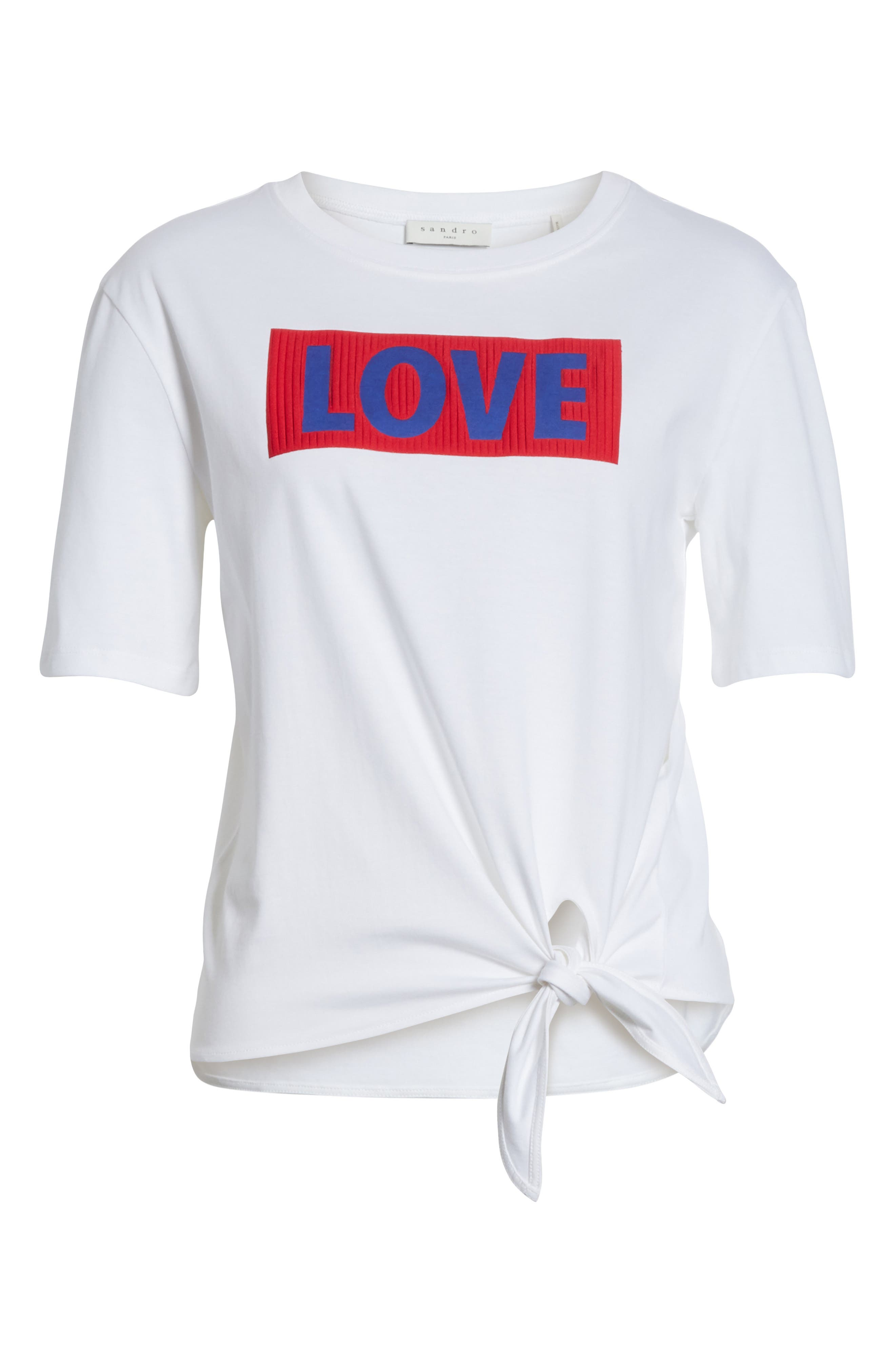 Love Tee,                             Alternate thumbnail 6, color,                             100