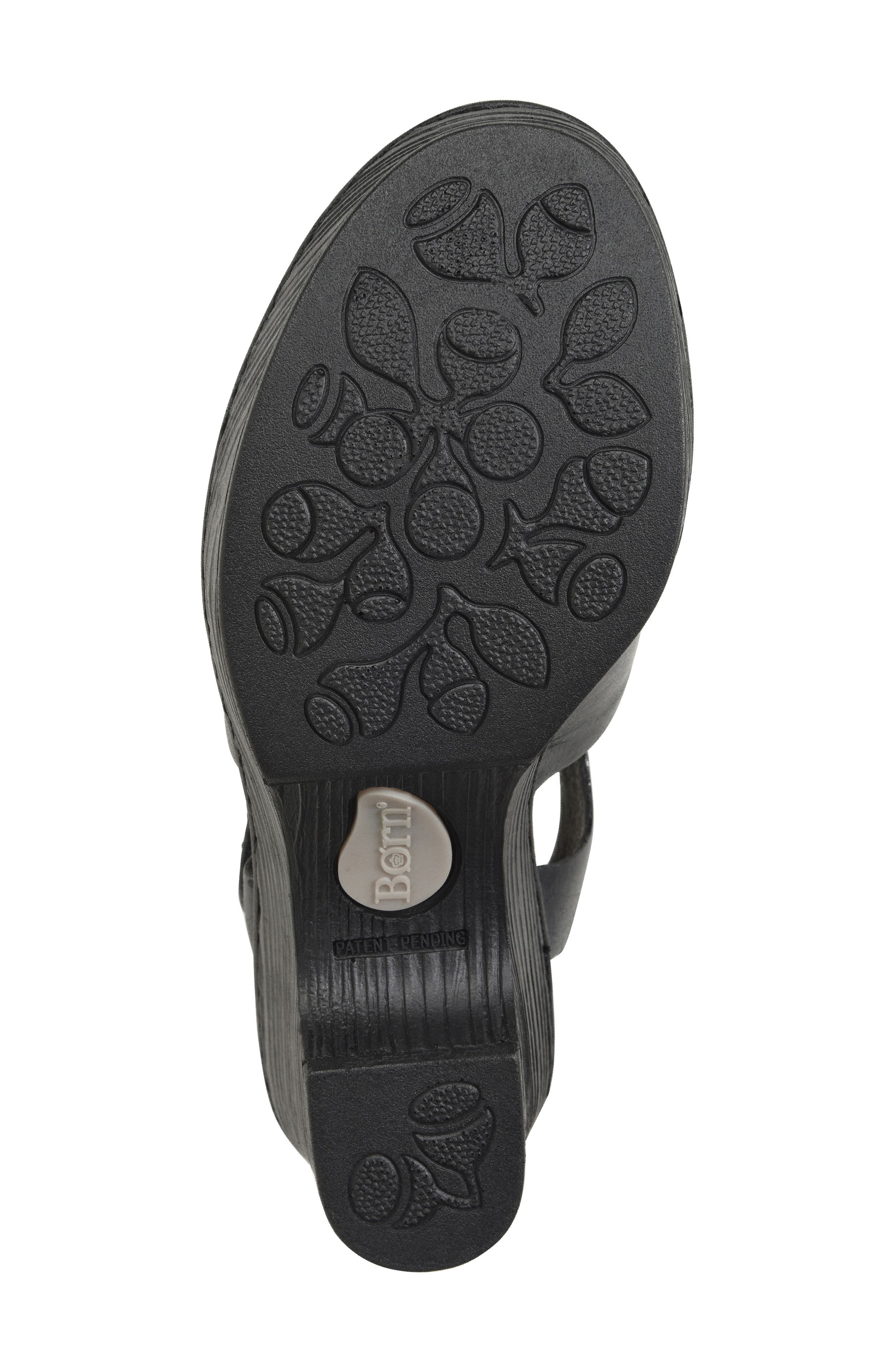 Canna Platform Sandal,                             Alternate thumbnail 6, color,                             001