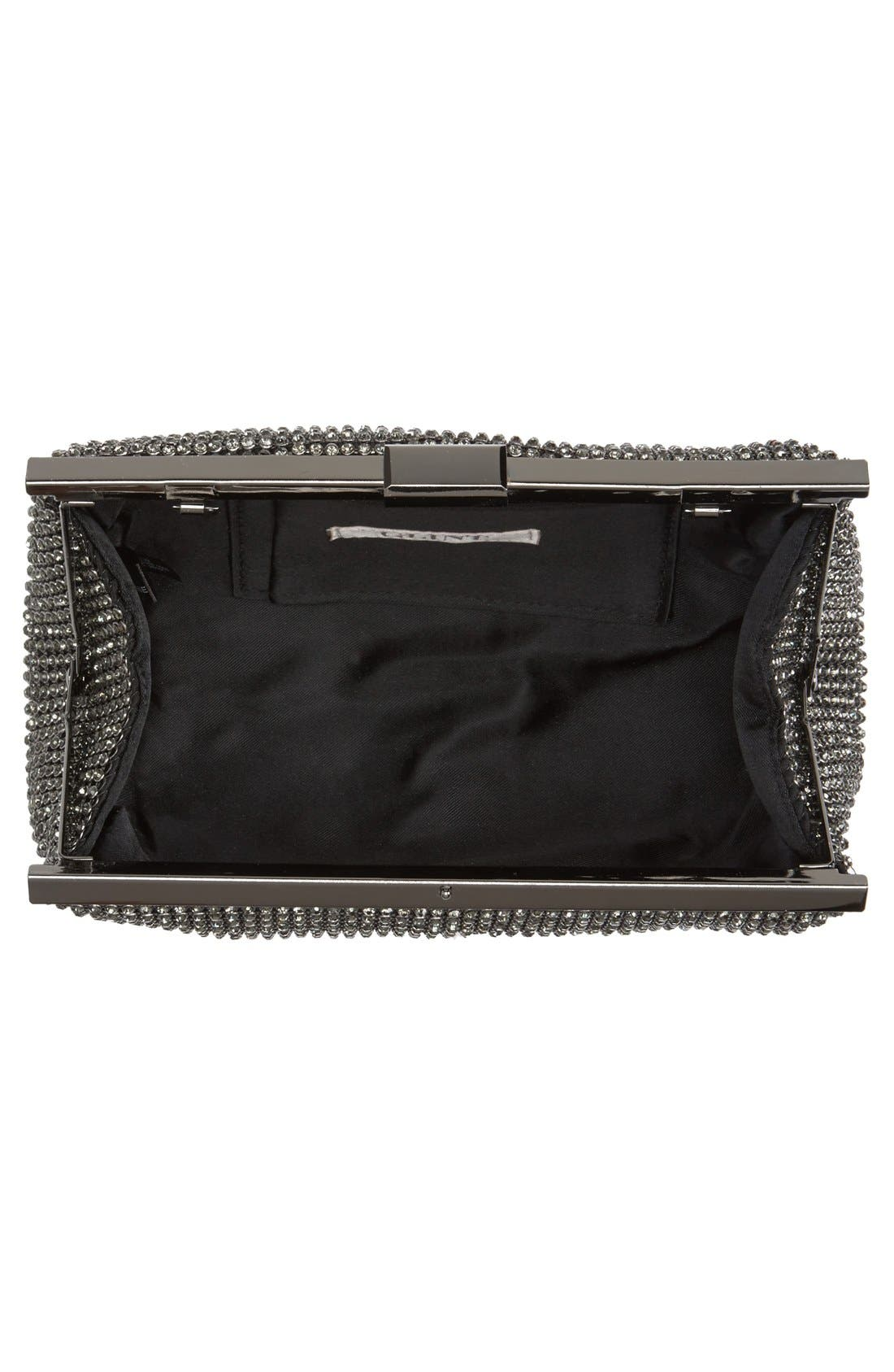 Crystal Mesh Clutch,                             Alternate thumbnail 10, color,