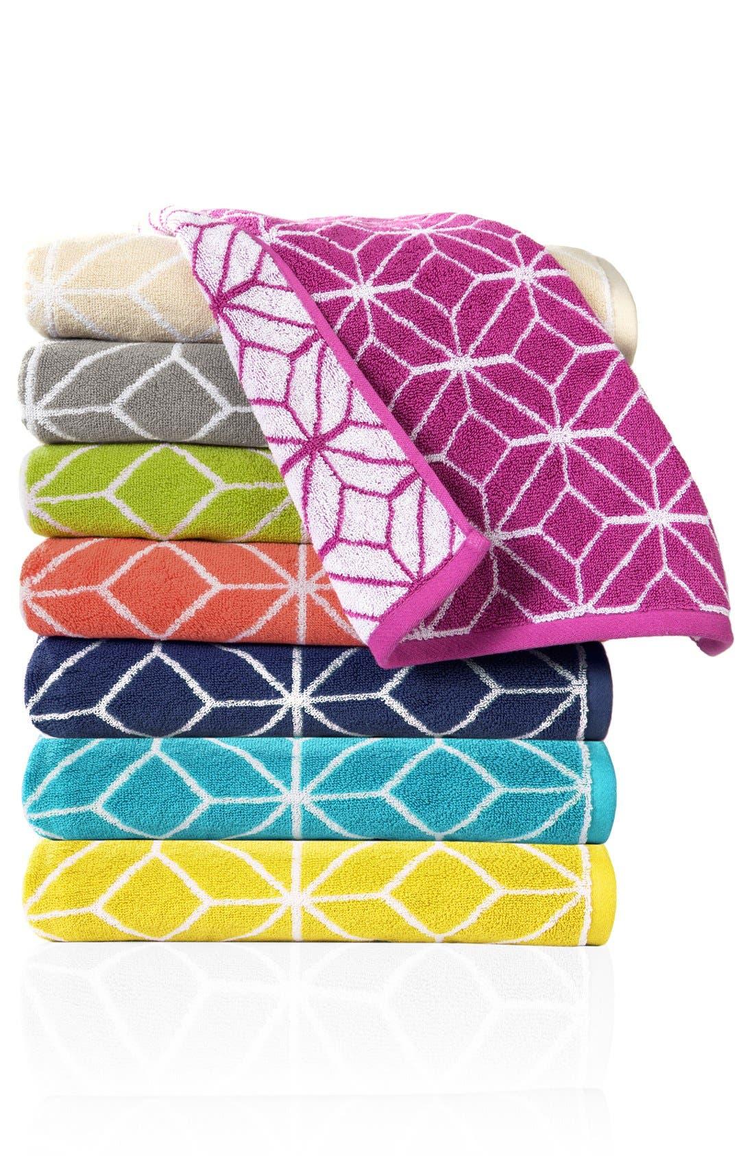 TRINA TURK 'Trellis' Bath Towel, Main, color, 020