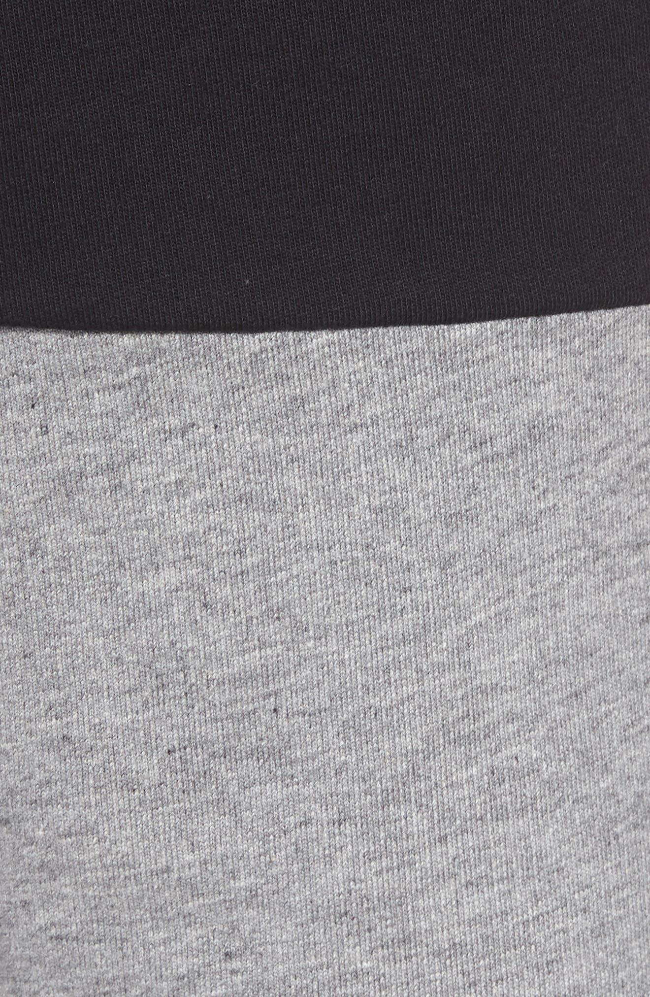 NSW Franchise GX3 Shorts,                             Alternate thumbnail 5, color,                             BLACK/ CARBON HEATHER/ WHITE