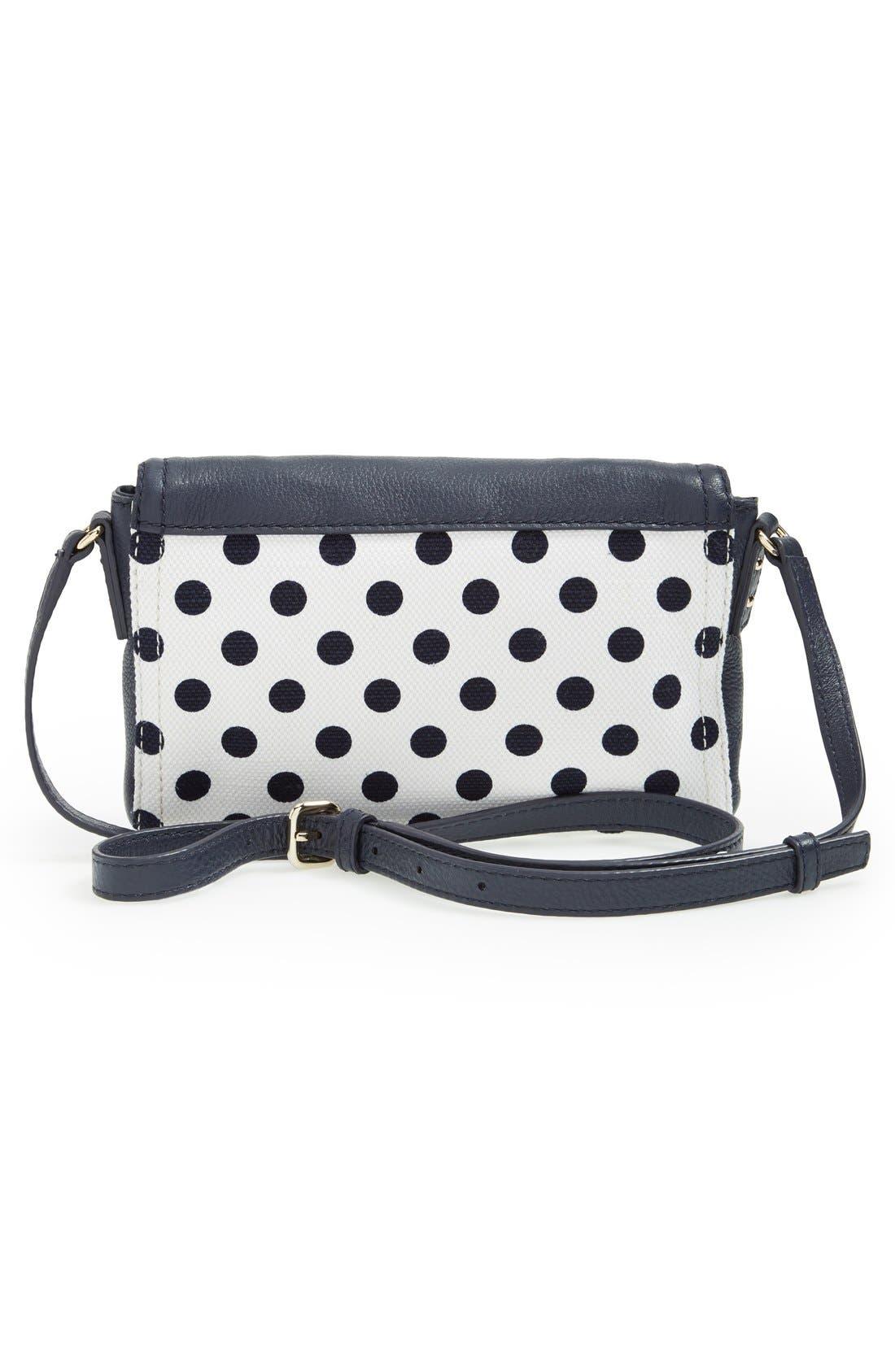 'cobble hill - dot mini carson' crossbody bag,                             Alternate thumbnail 4, color,                             426