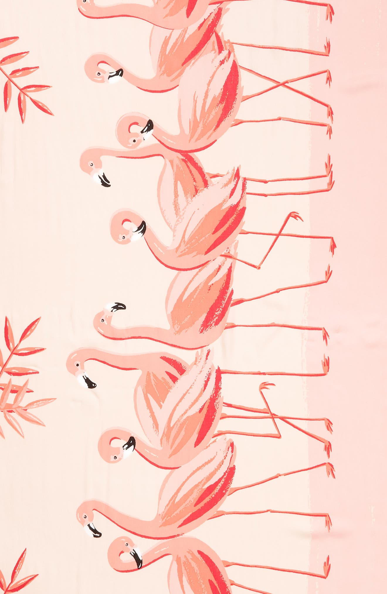 flamingo scarf,                             Alternate thumbnail 4, color,                             APRICOT SORBET