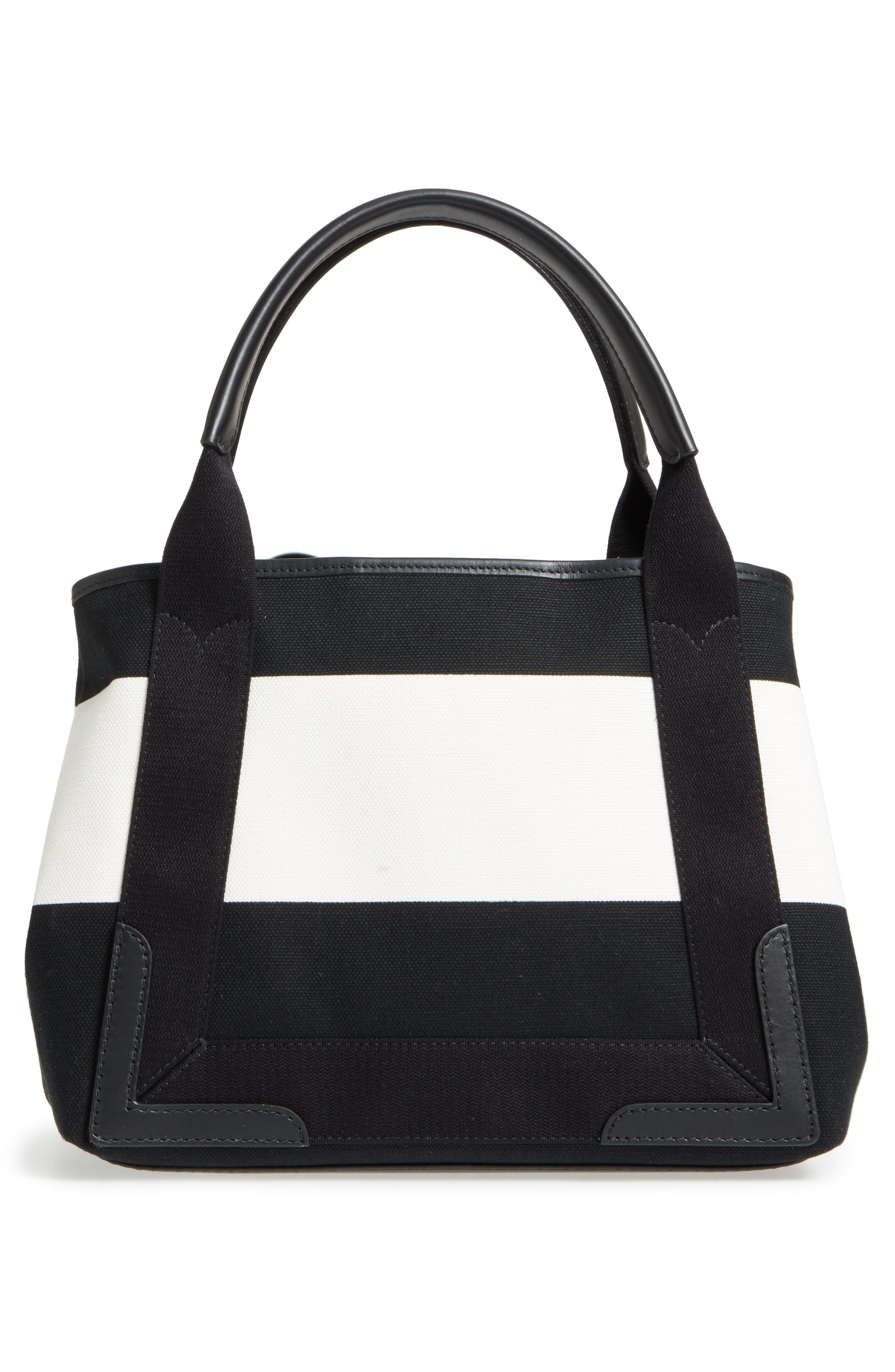Small Cabas Canvas Tote,                             Alternate thumbnail 3, color,                             006
