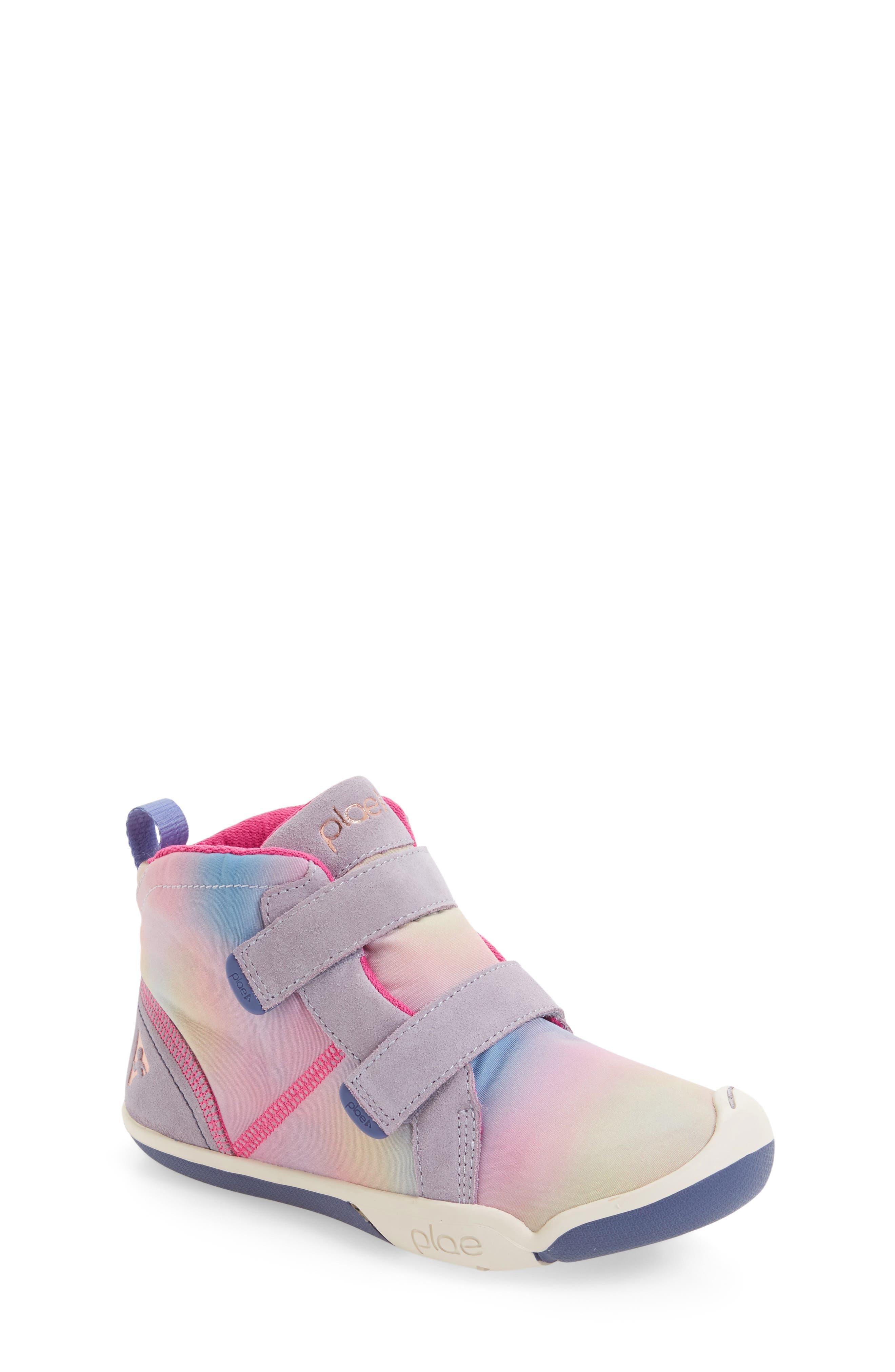 Max Customizable High Top Sneaker,                             Main thumbnail 1, color,                             FUN AURORA SUEDE