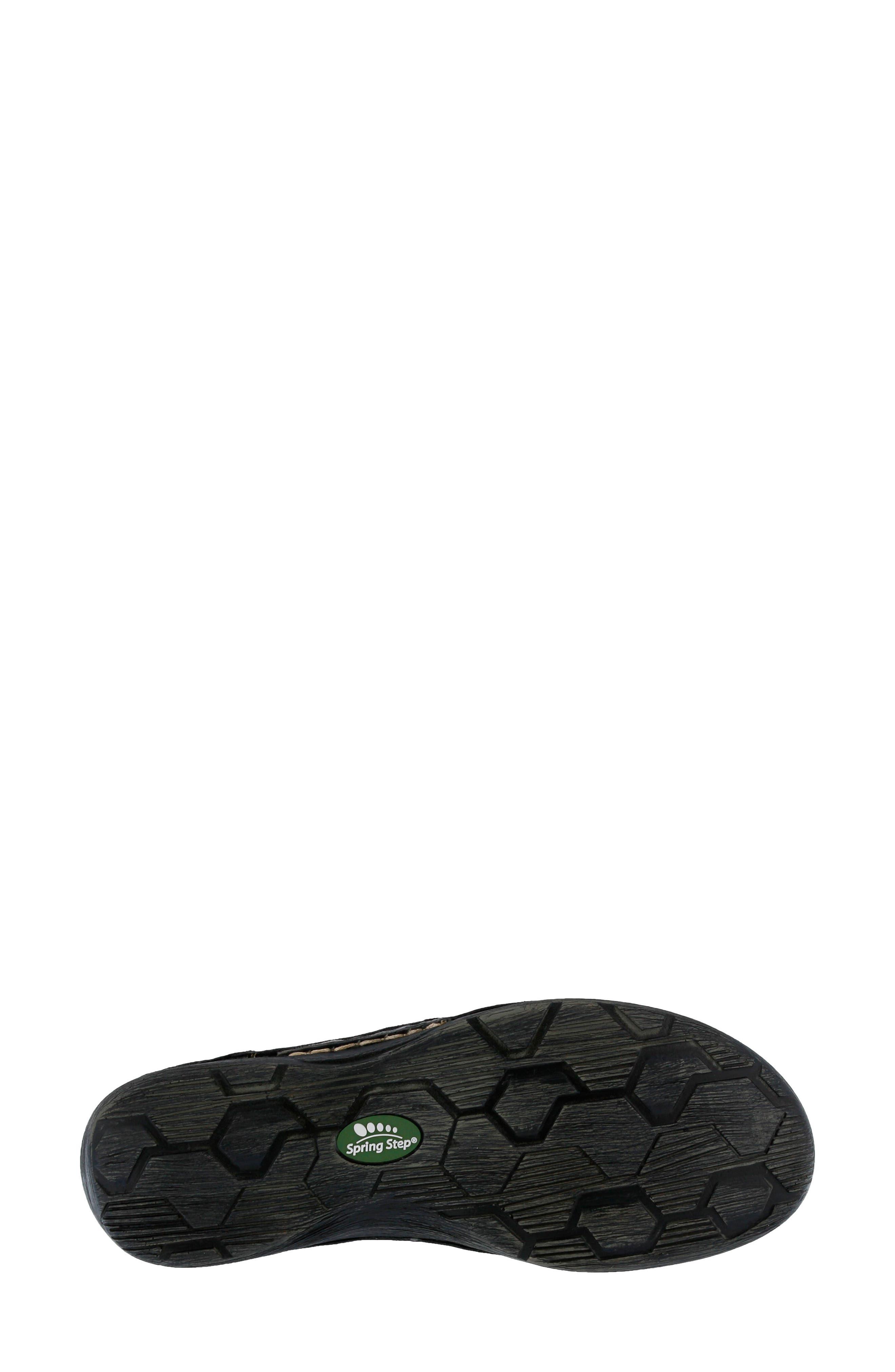 Carhop Sneaker,                             Alternate thumbnail 5, color,                             BLACK LEATHER