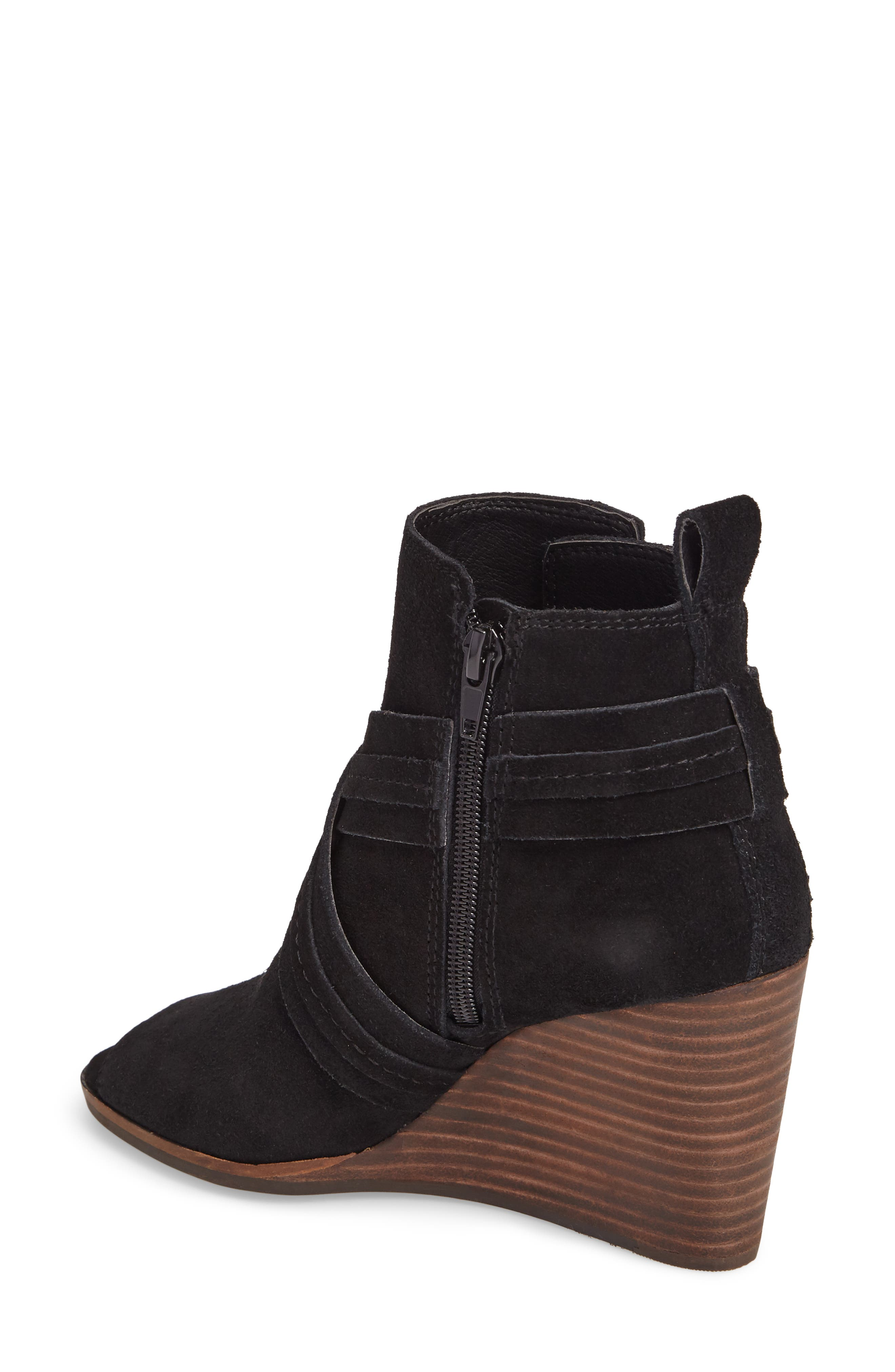 Udom Wedge Bootie,                             Alternate thumbnail 2, color,                             001