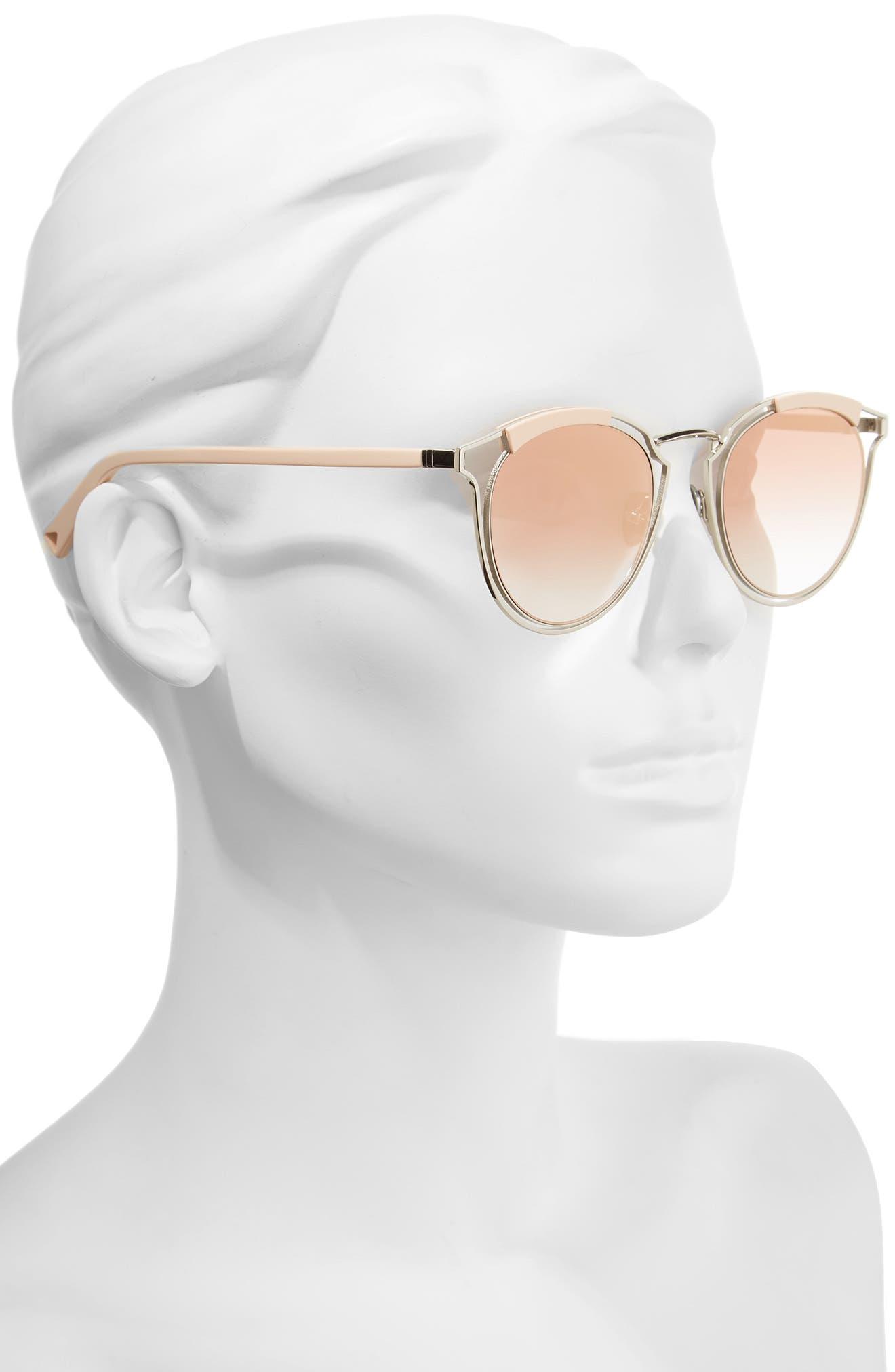 Edge X 50mm Modified Round Sunglasses,                             Alternate thumbnail 2, color,                             040