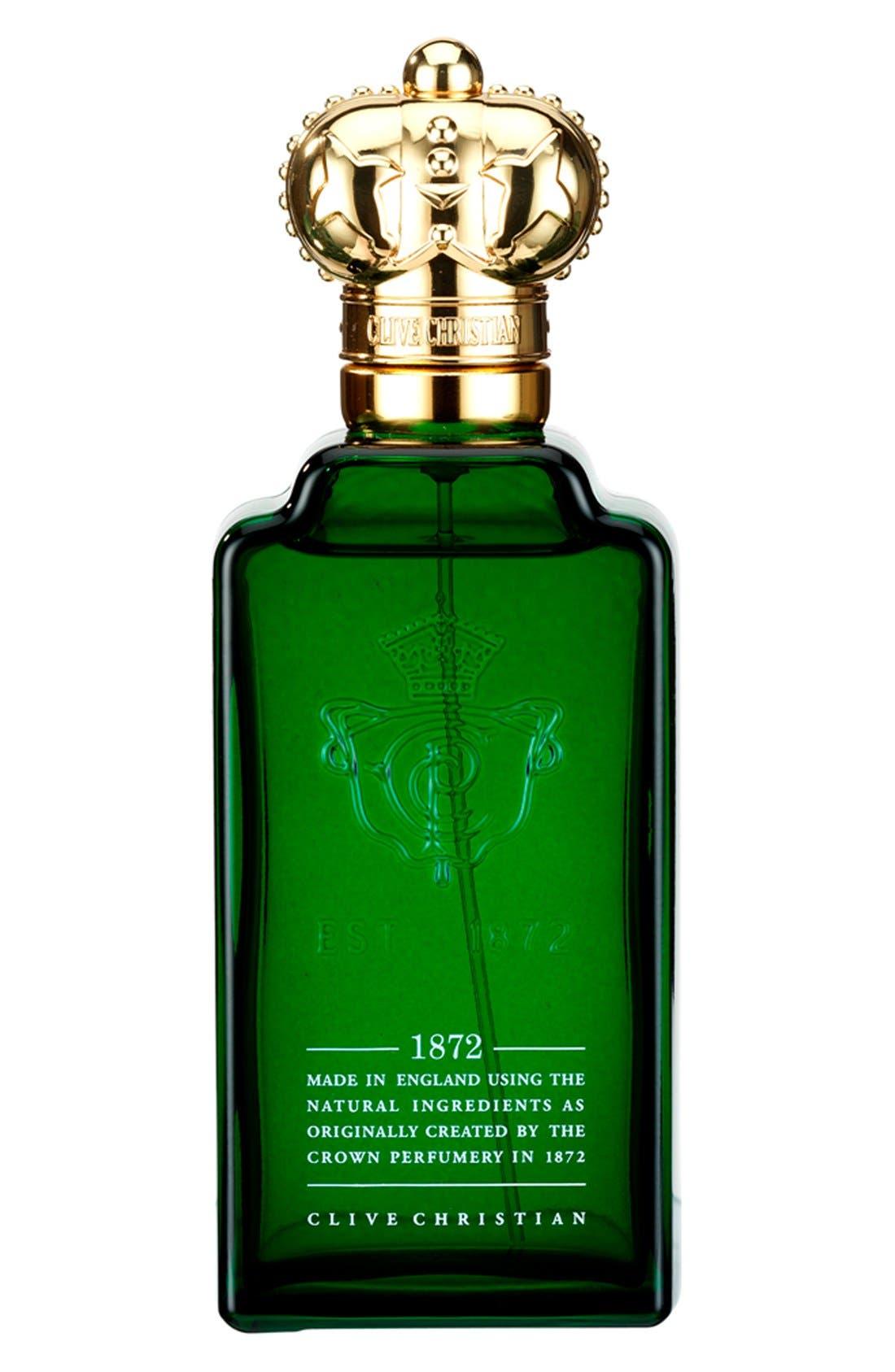 '1872' Men's Pure Perfume Spray,                             Main thumbnail 1, color,                             000