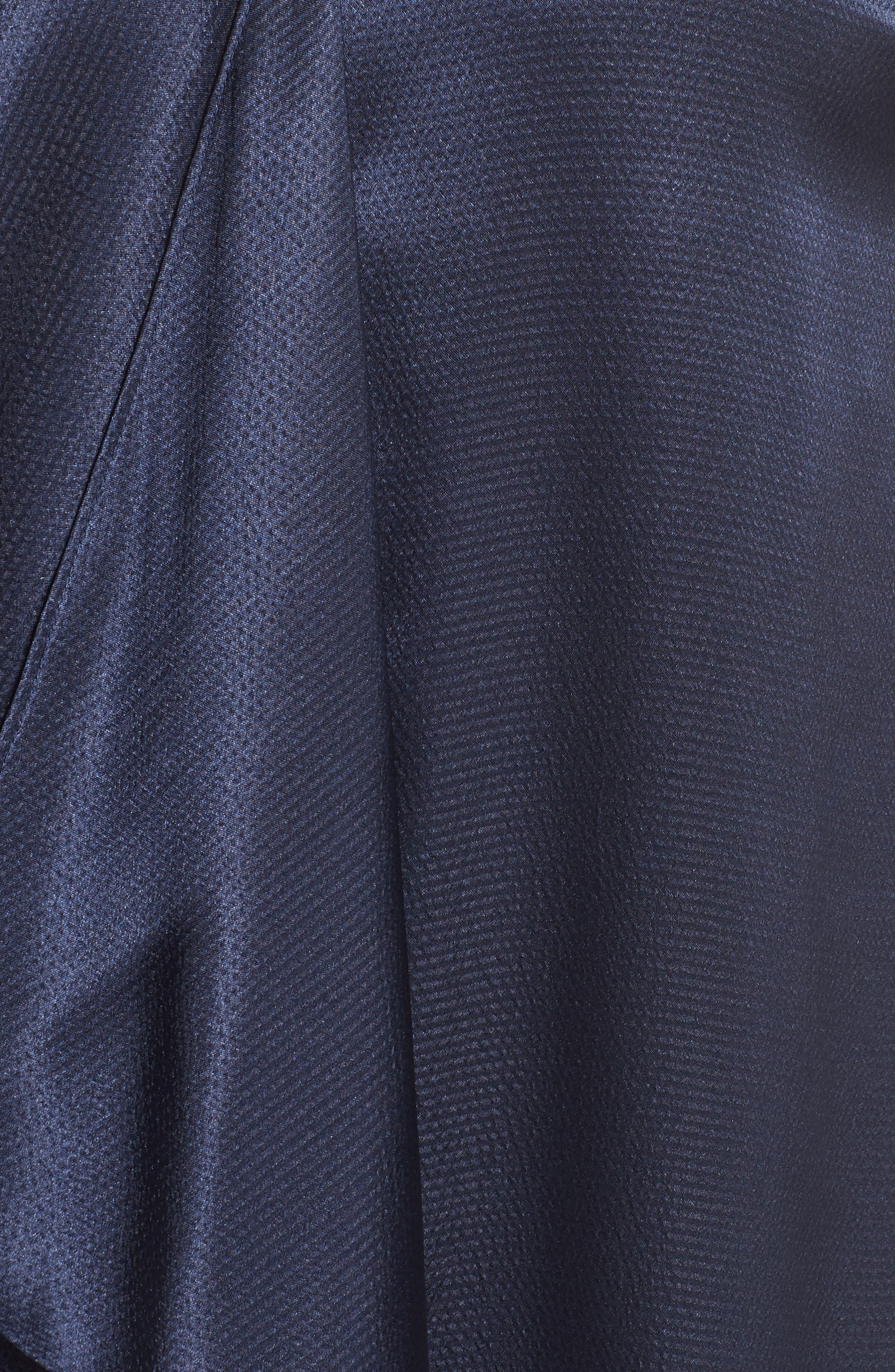 Asymmetrical Trapeze Dress,                             Alternate thumbnail 5, color,