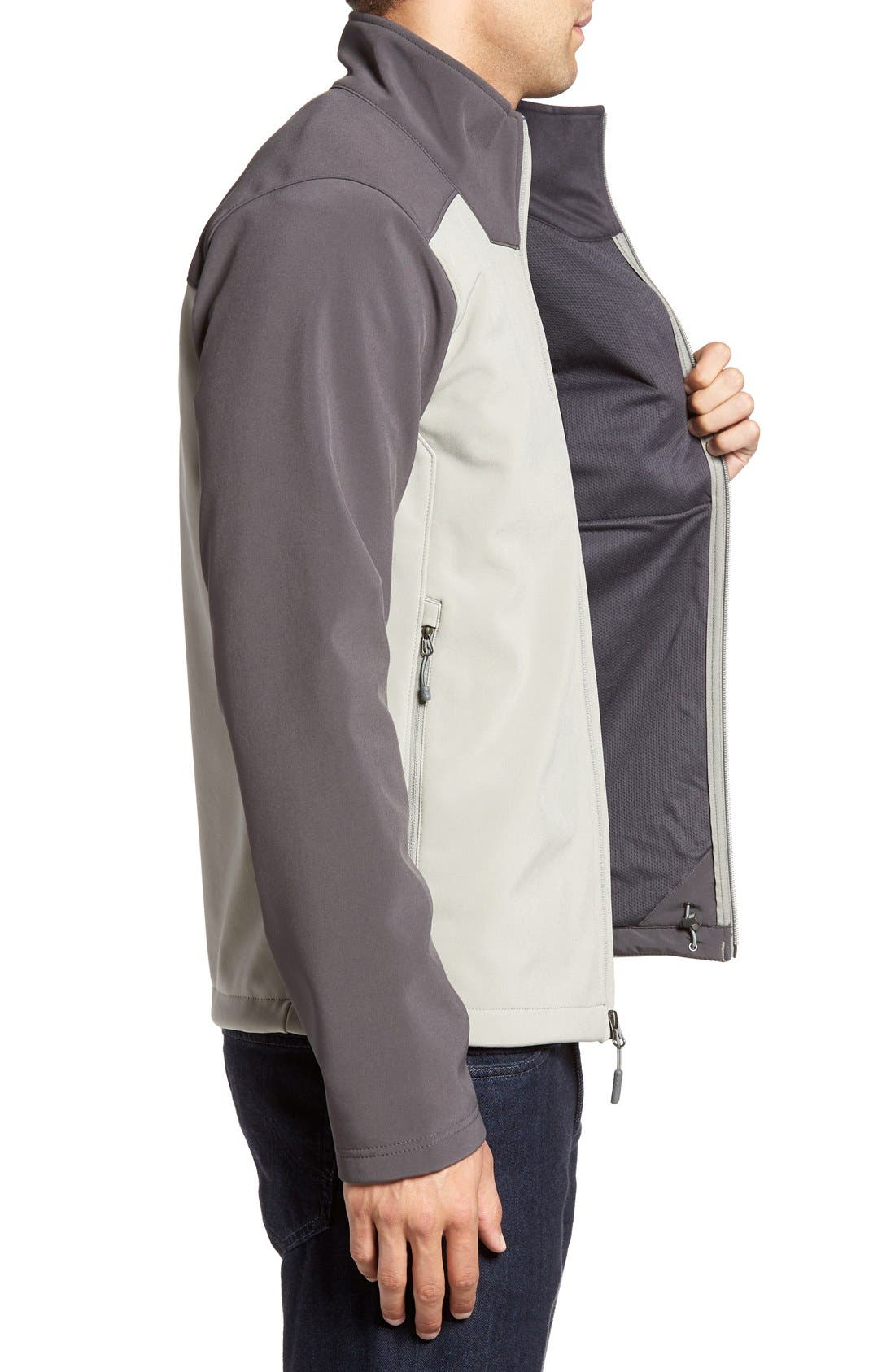 'Apex Bionic 2' Windproof & Water Resistant Soft Shell Jacket,                             Alternate thumbnail 31, color,