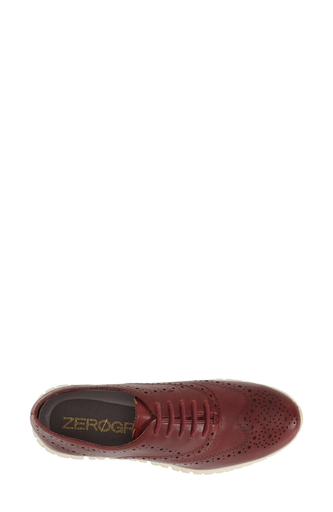 'ZeroGrand' Perforated Wingtip,                             Alternate thumbnail 84, color,