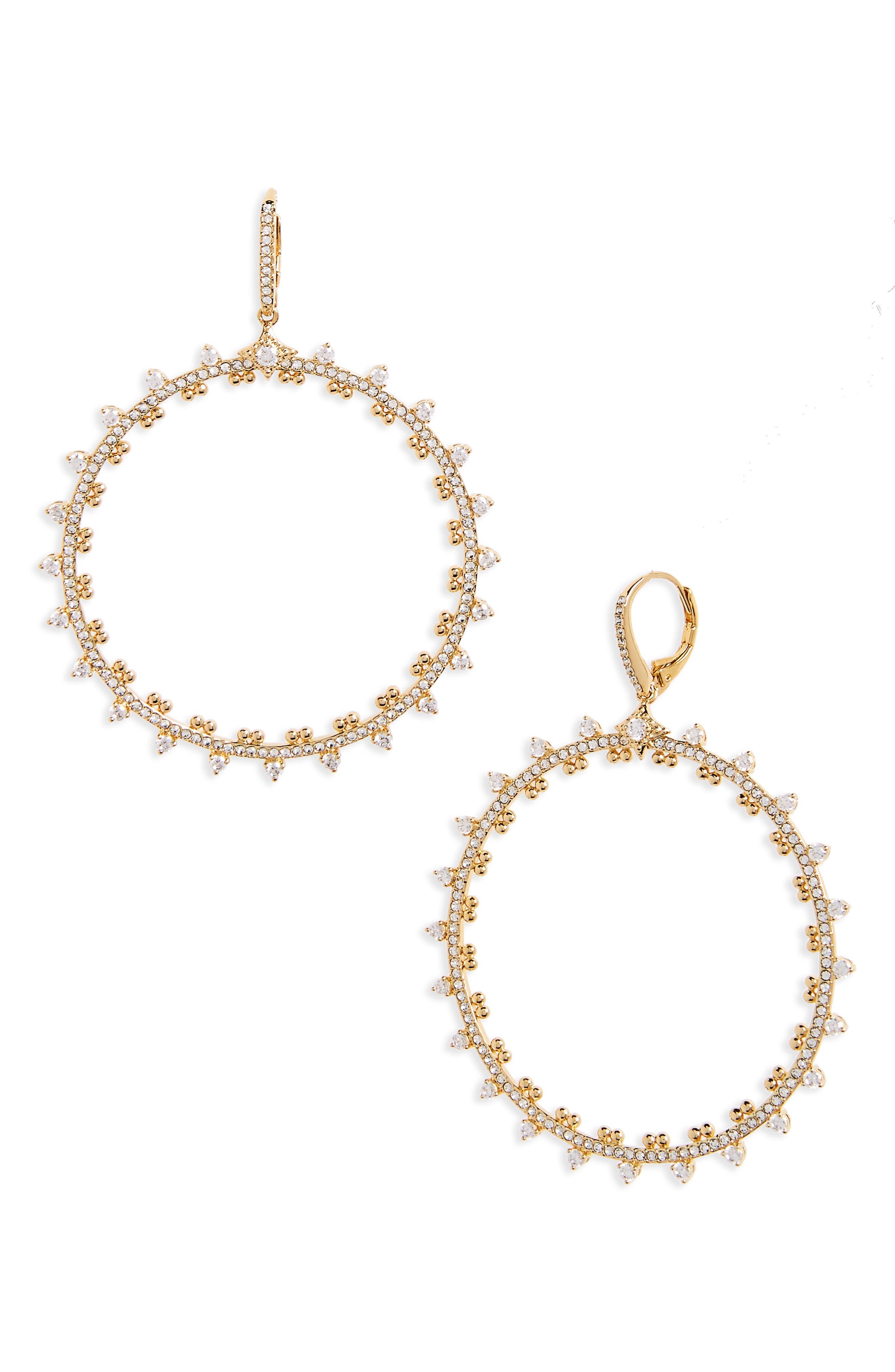 Cardamom Frontal Hoop Earrings,                         Main,                         color, 710
