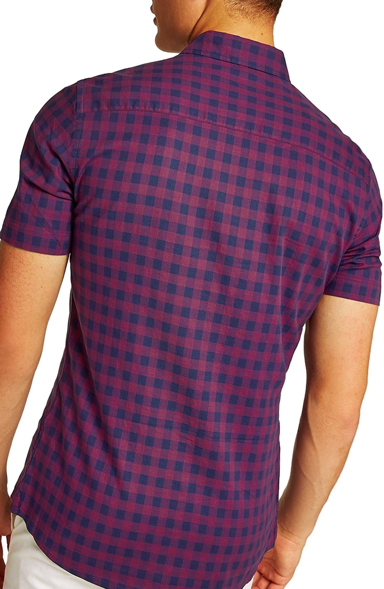 Gingham Shirt,                             Alternate thumbnail 3, color,                             400