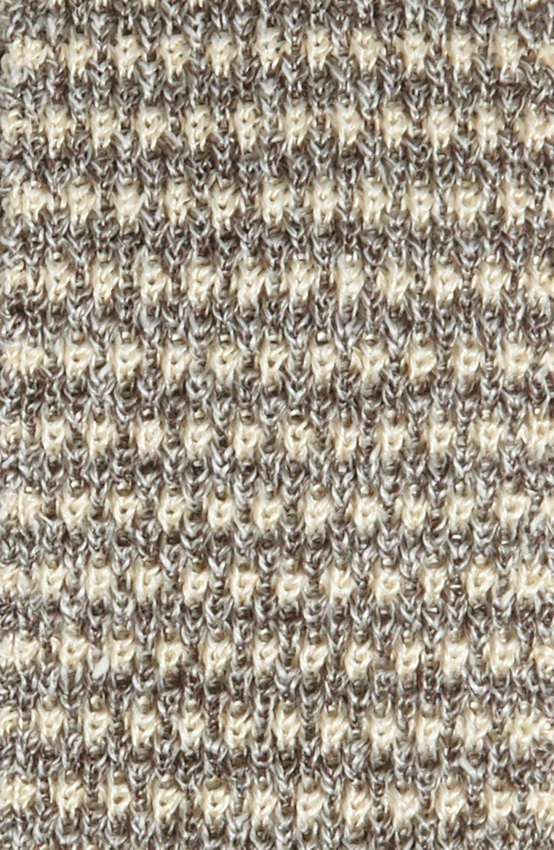 BURBERRY,                             London Knit Tie,                             Alternate thumbnail 2, color,                             024