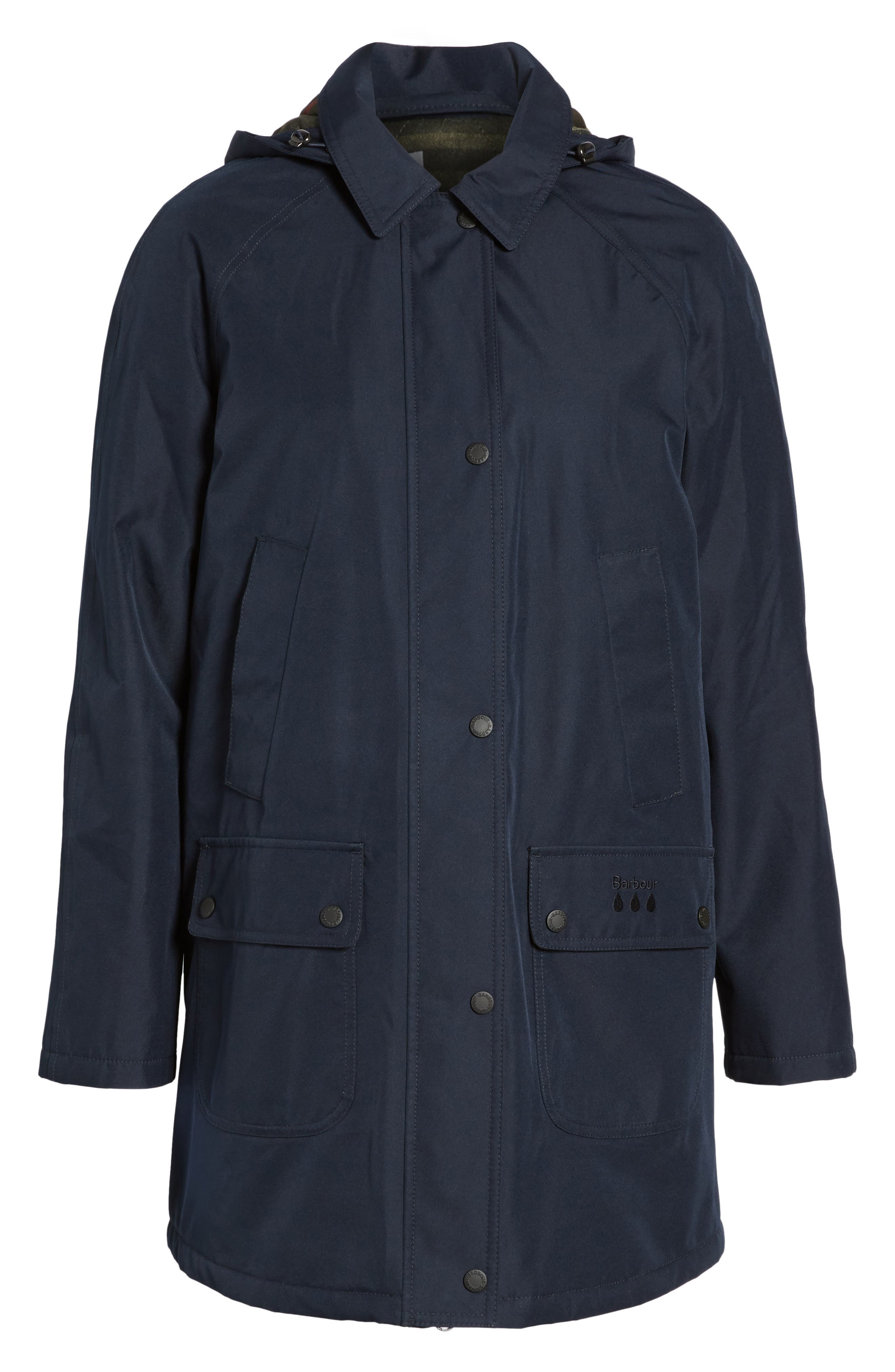 Whirl Waterproof Hooded Jacket,                             Alternate thumbnail 5, color,                             410