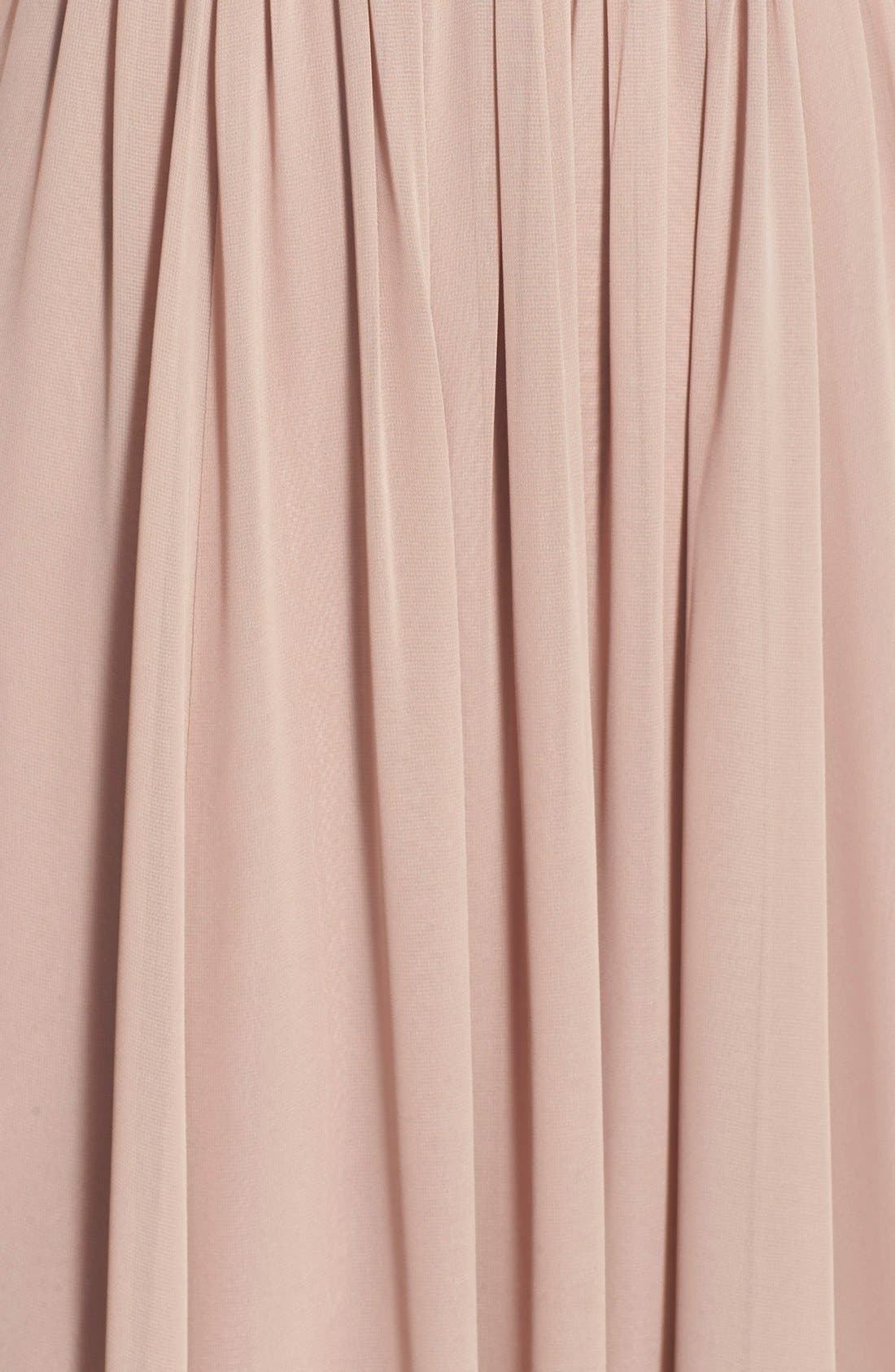 Vivienne Pleated Chiffon Gown,                             Alternate thumbnail 35, color,