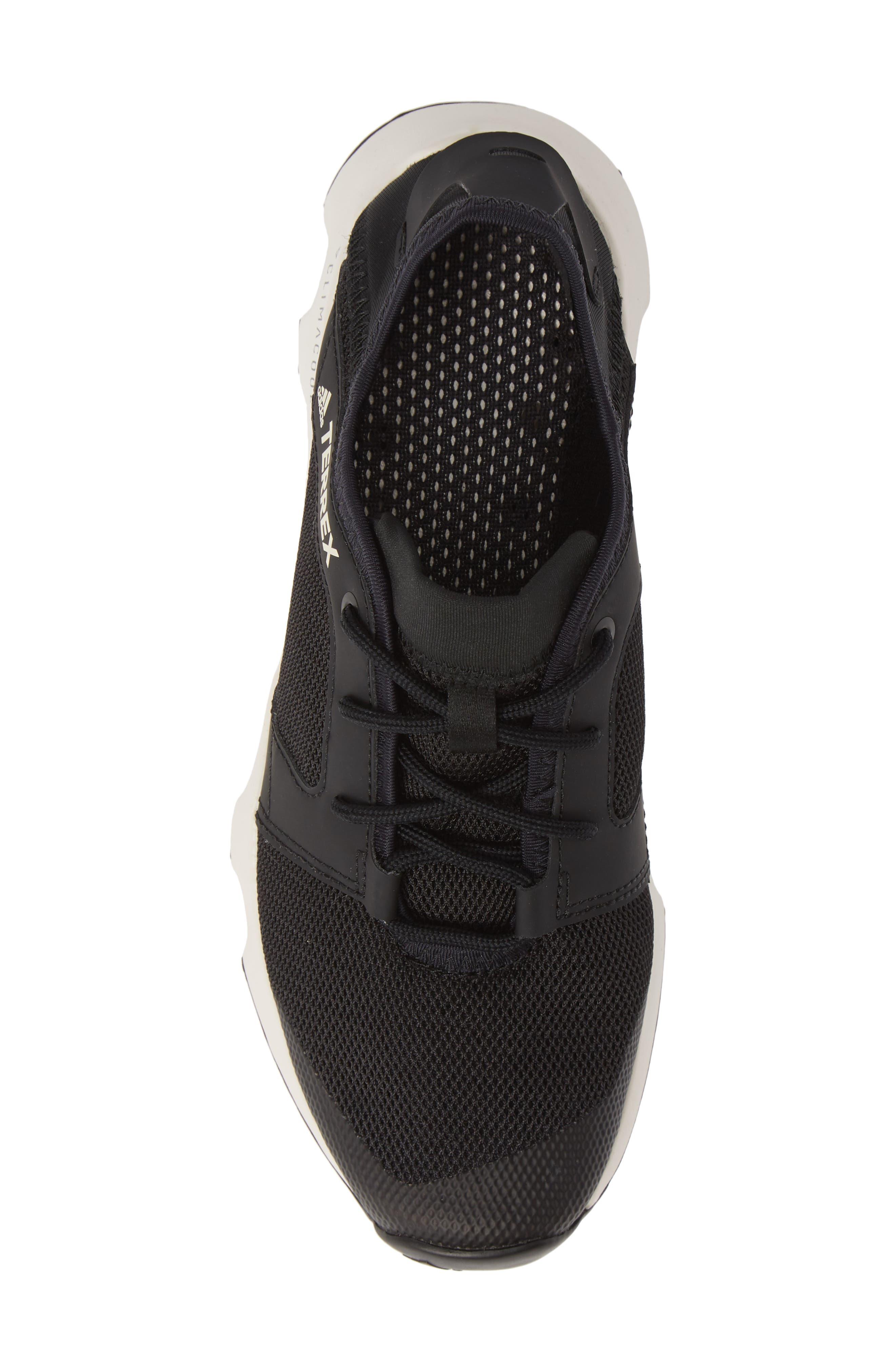 Terrex Climacool<sup>®</sup> Voyager Sleek Sneaker,                             Alternate thumbnail 5, color,                             BLACK/ BLACK/ CHALK WHITE