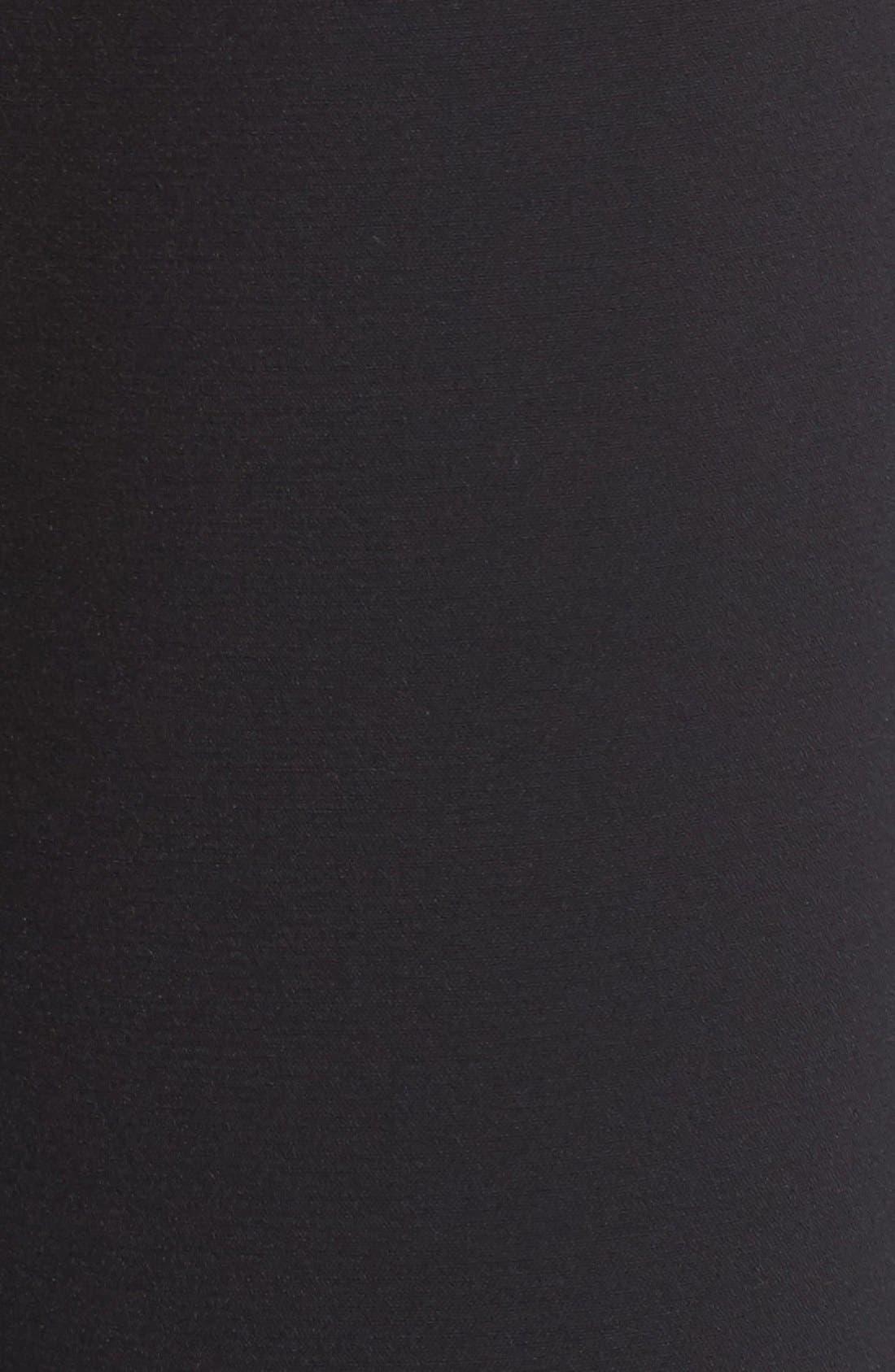 Devon Culottes,                             Alternate thumbnail 4, color,                             BLACK