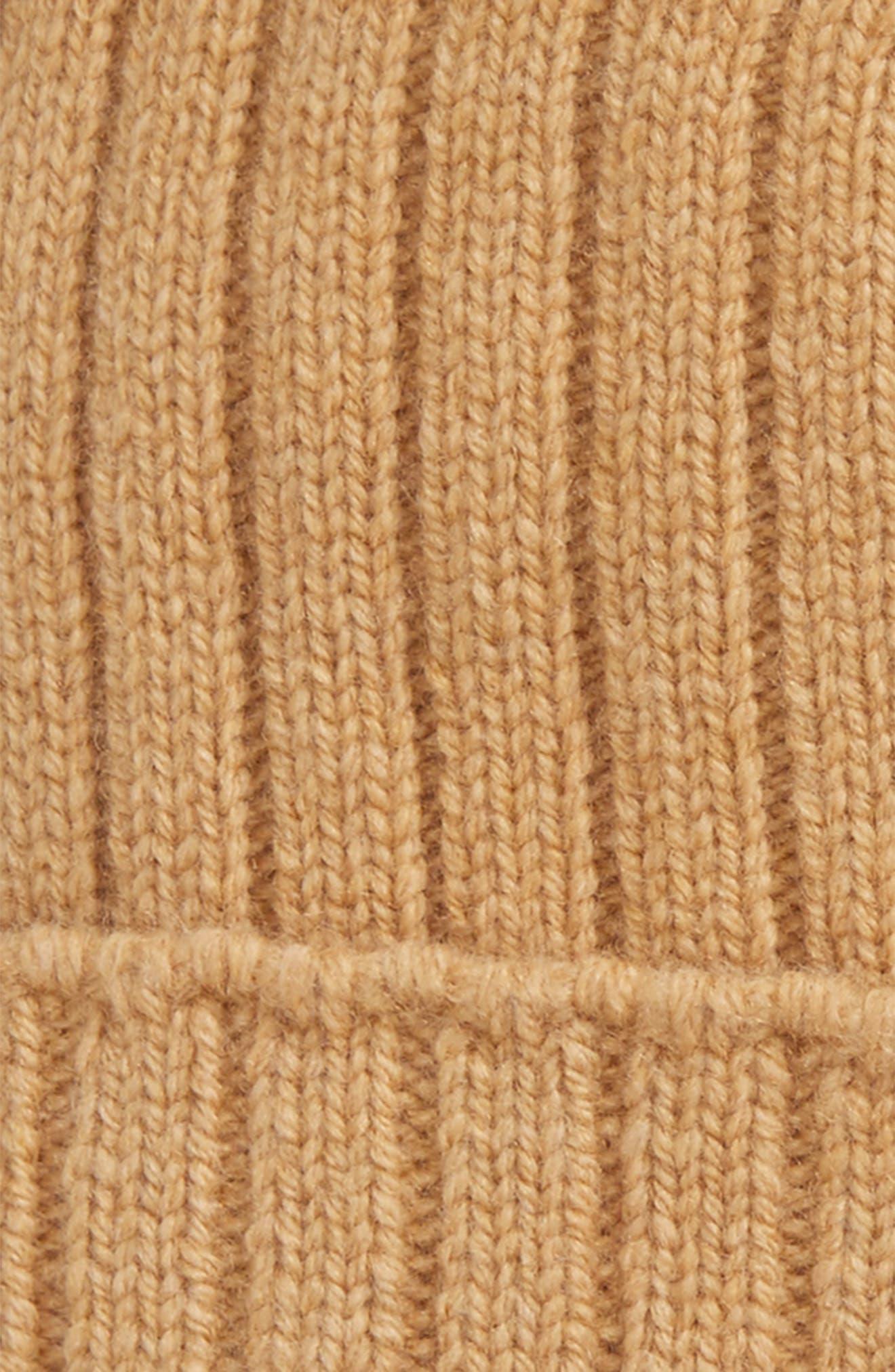 Wool Knit Cap,                             Alternate thumbnail 5, color,