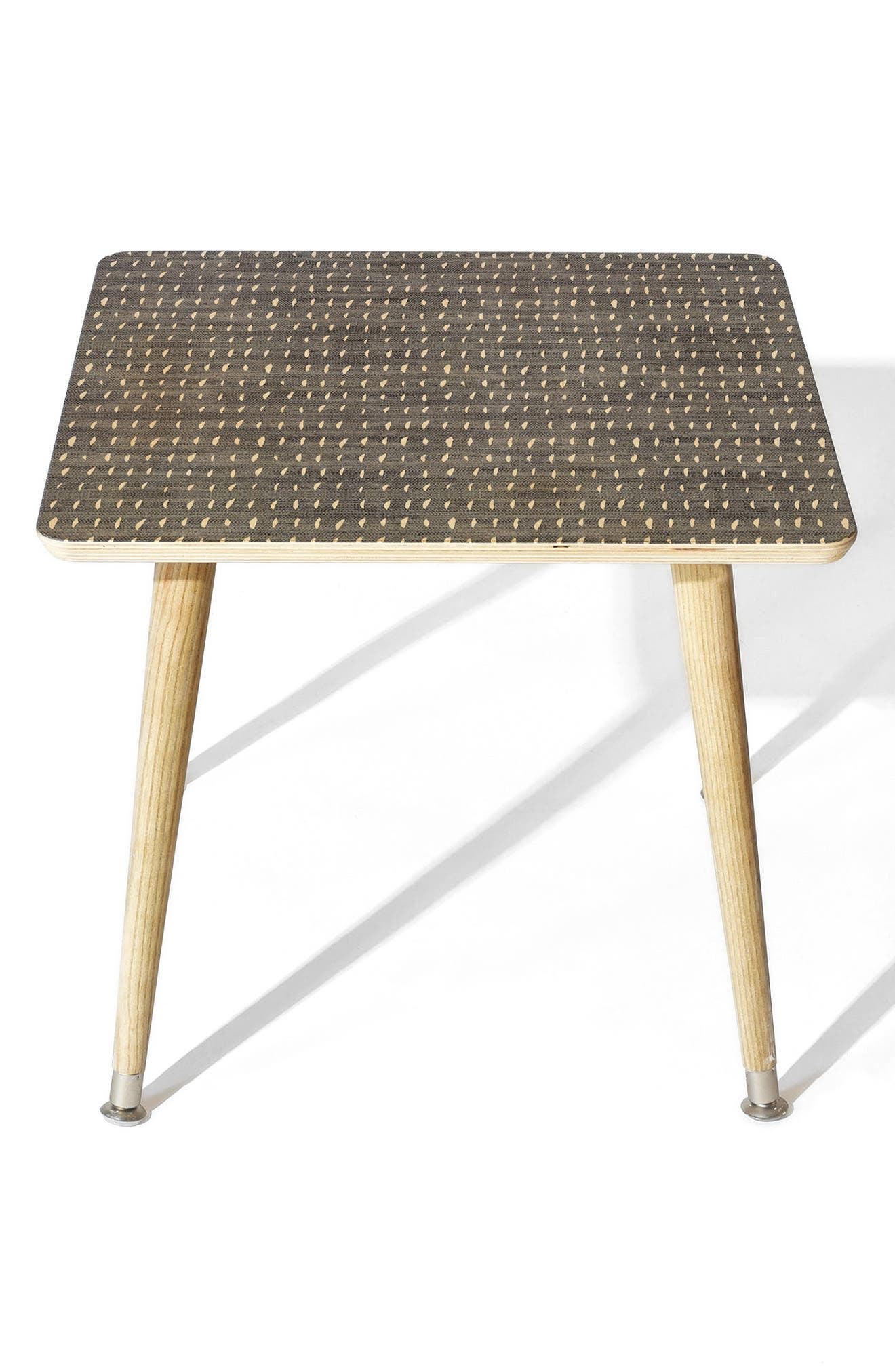 Denim Rain Side Table,                         Main,                         color, BLUE