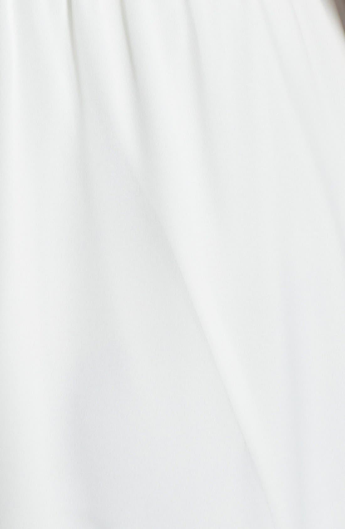 Blouson Chiffon Skater Dress,                             Alternate thumbnail 80, color,