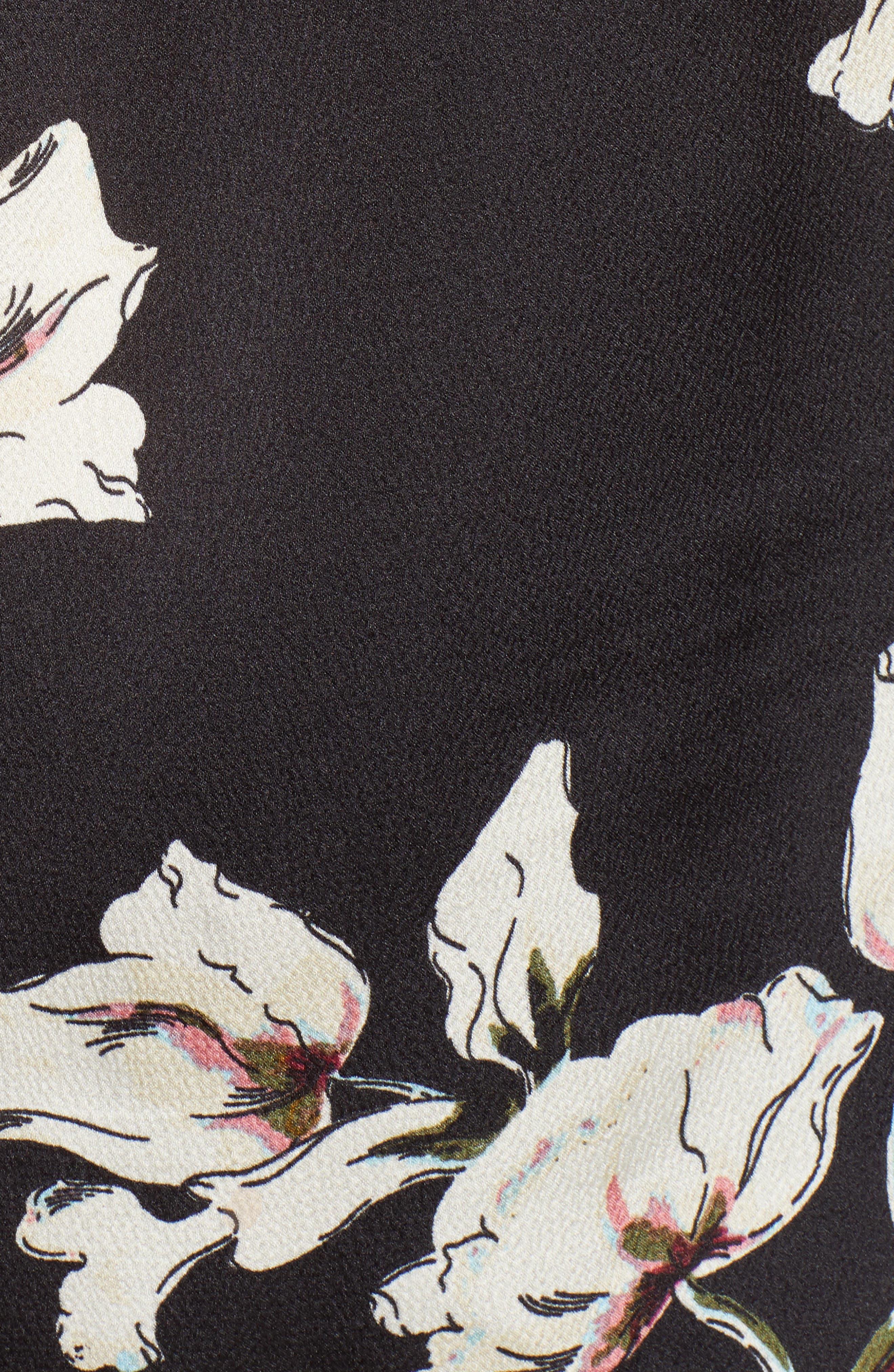 Bishop + Young Bella Flutter Tank Top,                             Alternate thumbnail 5, color,                             BLACK